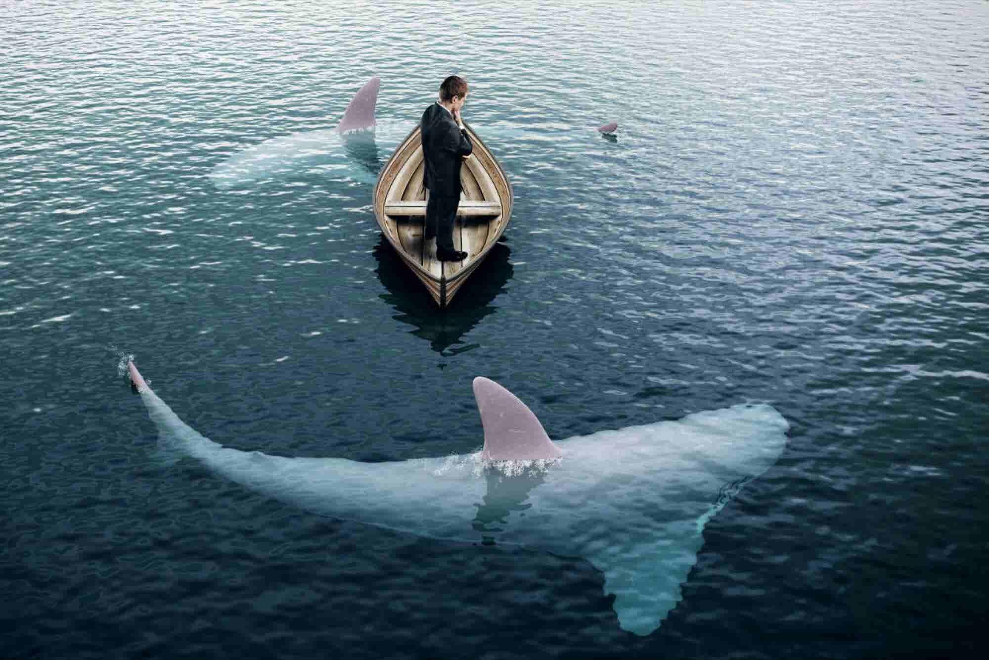 El emprendedor que 'subió al barco' de su startup a los 'tiburones' de...