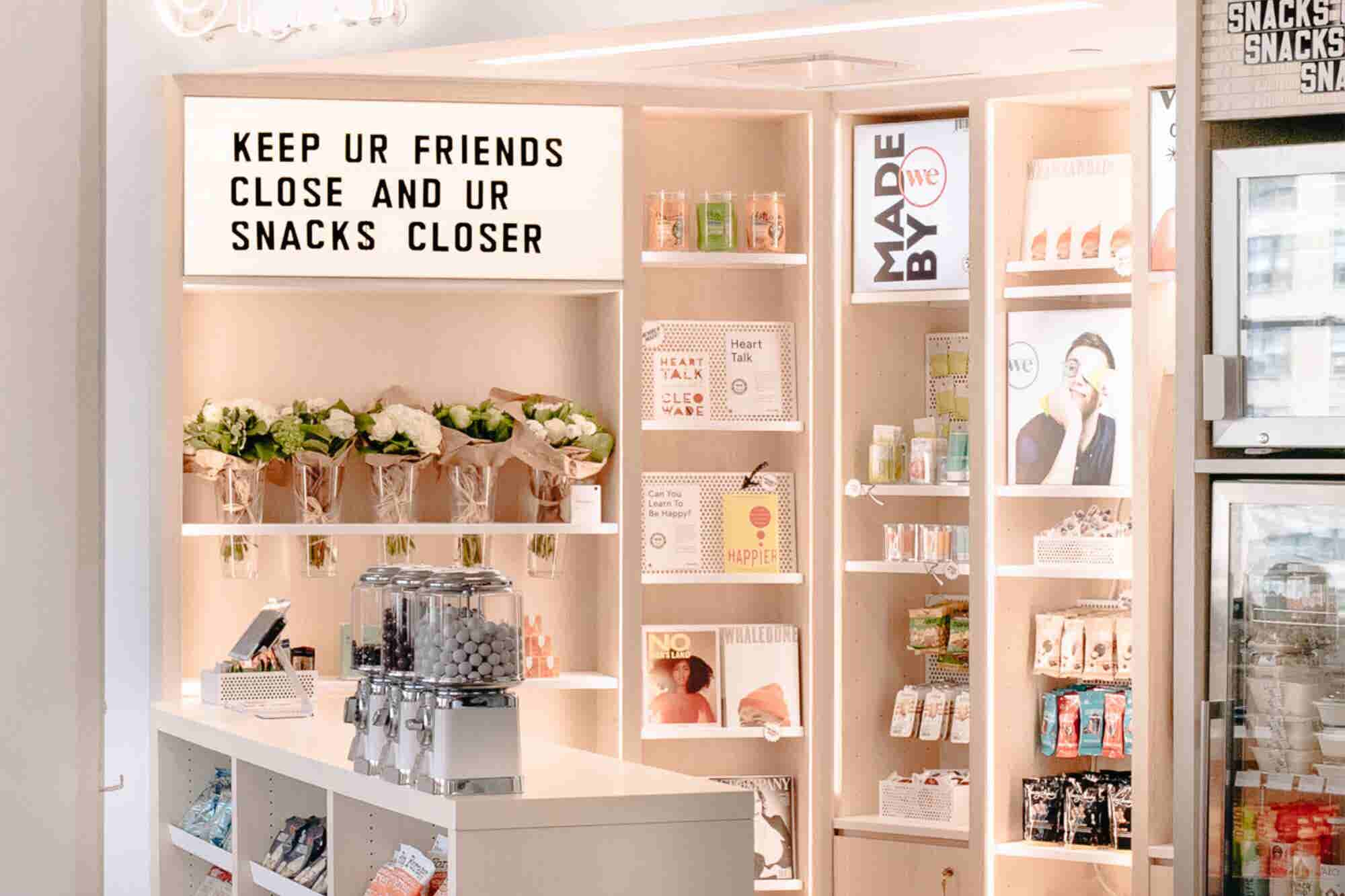 WeWork Opens a Retail Operation, Highlighting Products Made by Its Mem...