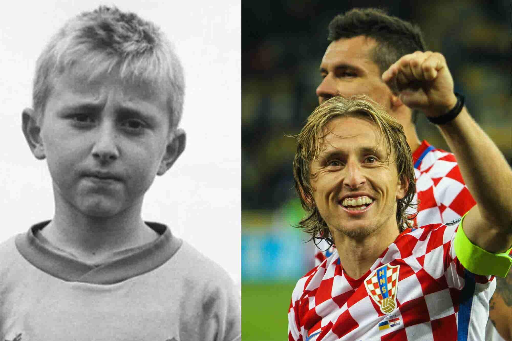 Luka Modric, el niño que huyó de la guerra y ahora jugará una final de...