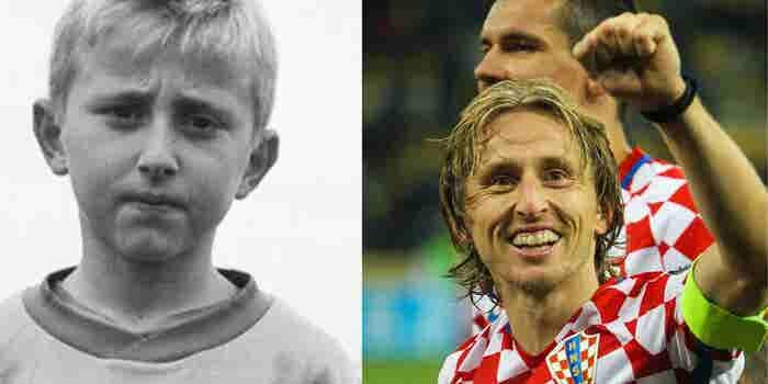 Luka Modric, el niño que huyó de la guerra y ahora jugará una final de Mundial