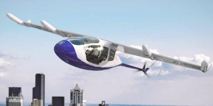 ¿Taxis voladores de ultra lujo? Rolls-Royce quiere hacerlo