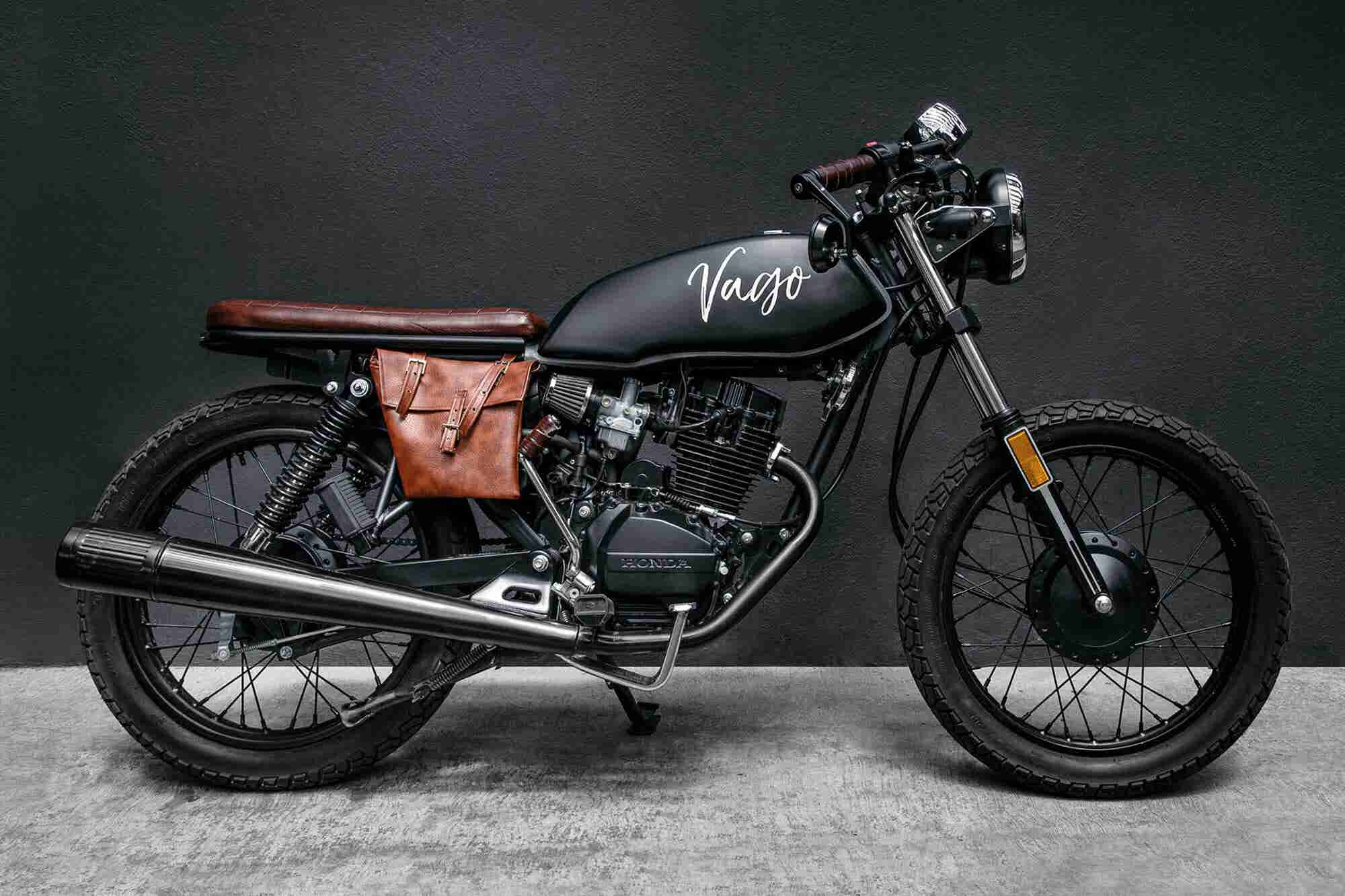 ¡Atrévete a diseñar una motocicleta clásica!