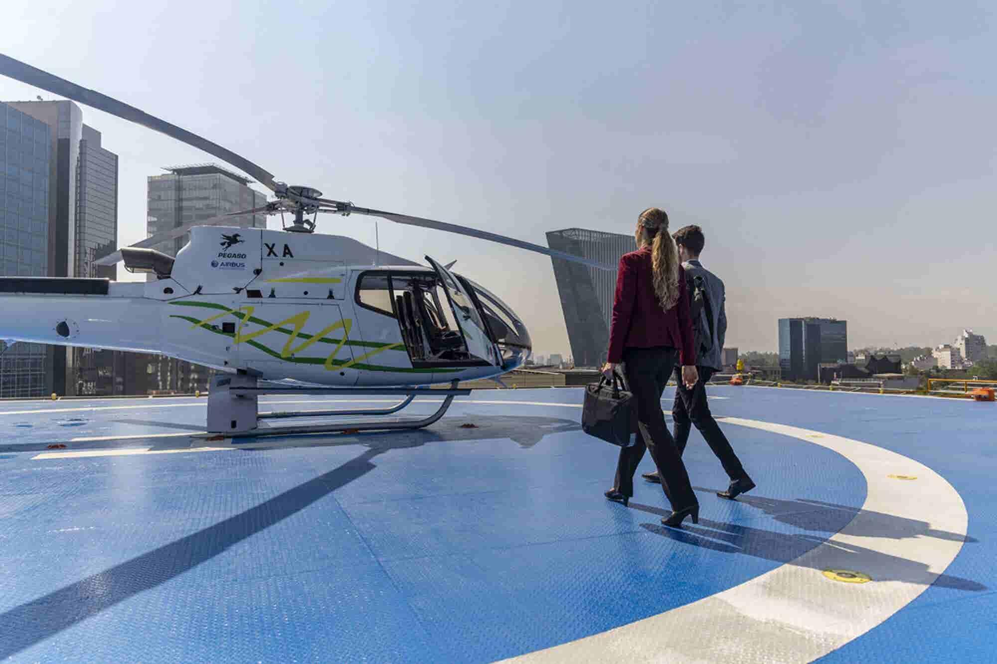 Cabify lanza servicio de helicópteros