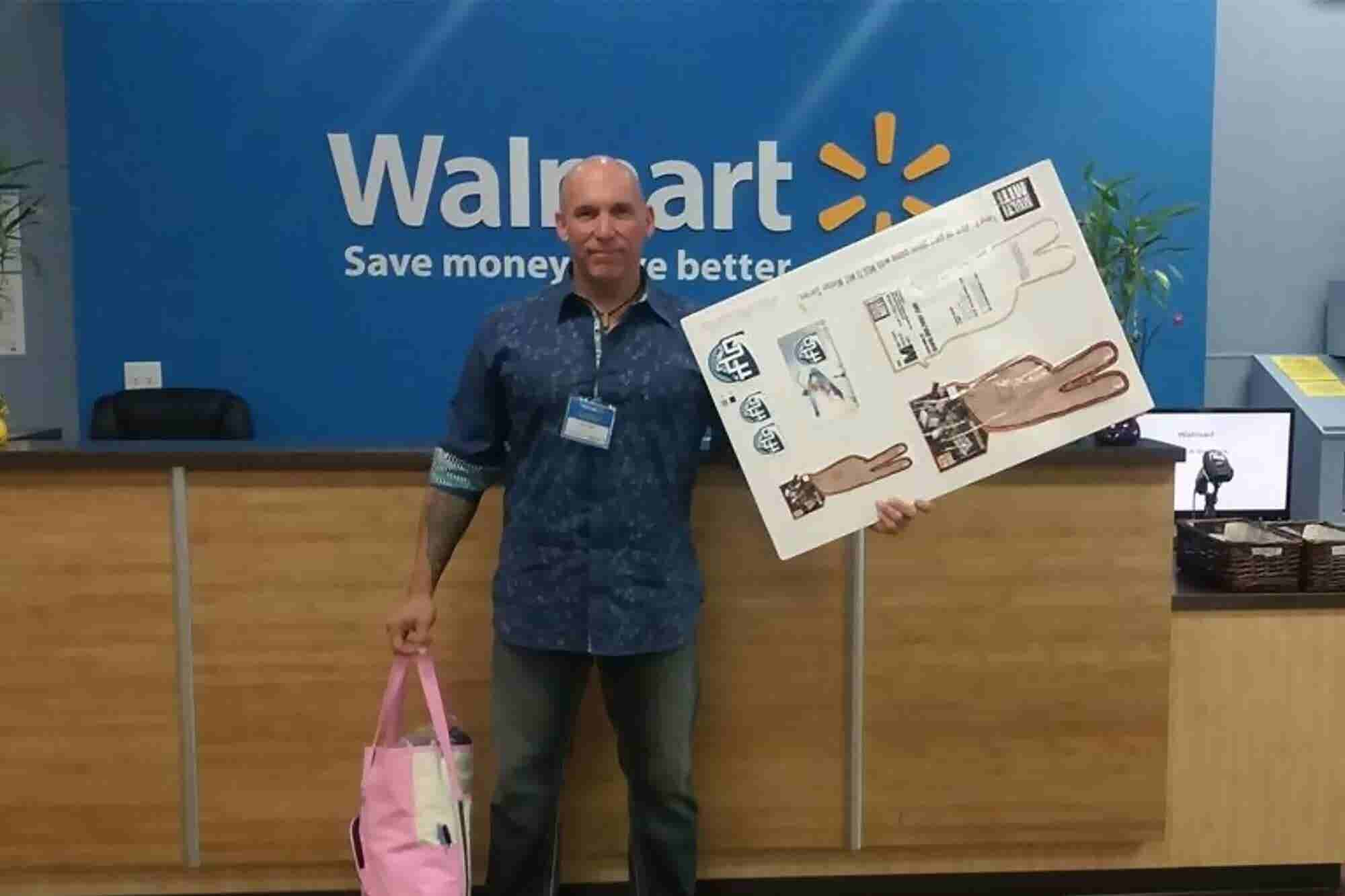 This Entrepreneur Drove Across the Country to Sell His Product to Walmart