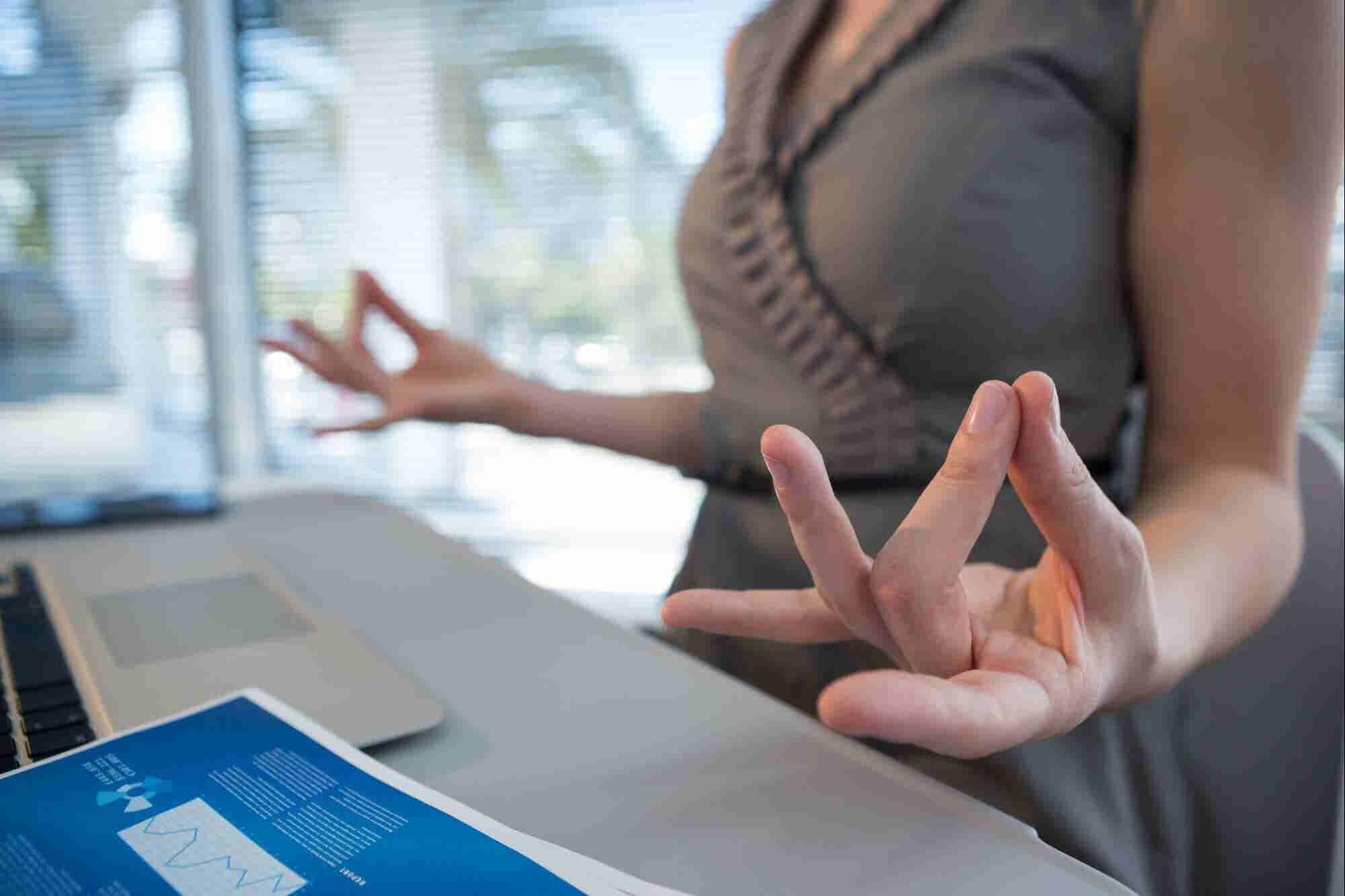 Encuentra tu centro: Cómo lidiar con el estrés en la oficina