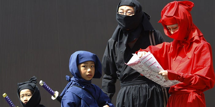 A Small Japanese City Was Deluged With Applications After Reports of a Ninja Shortage