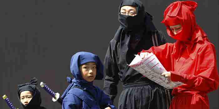 Una pequeña ciudad japonesa fue inundada con solicitudes de empleo de ¿ninjas?
