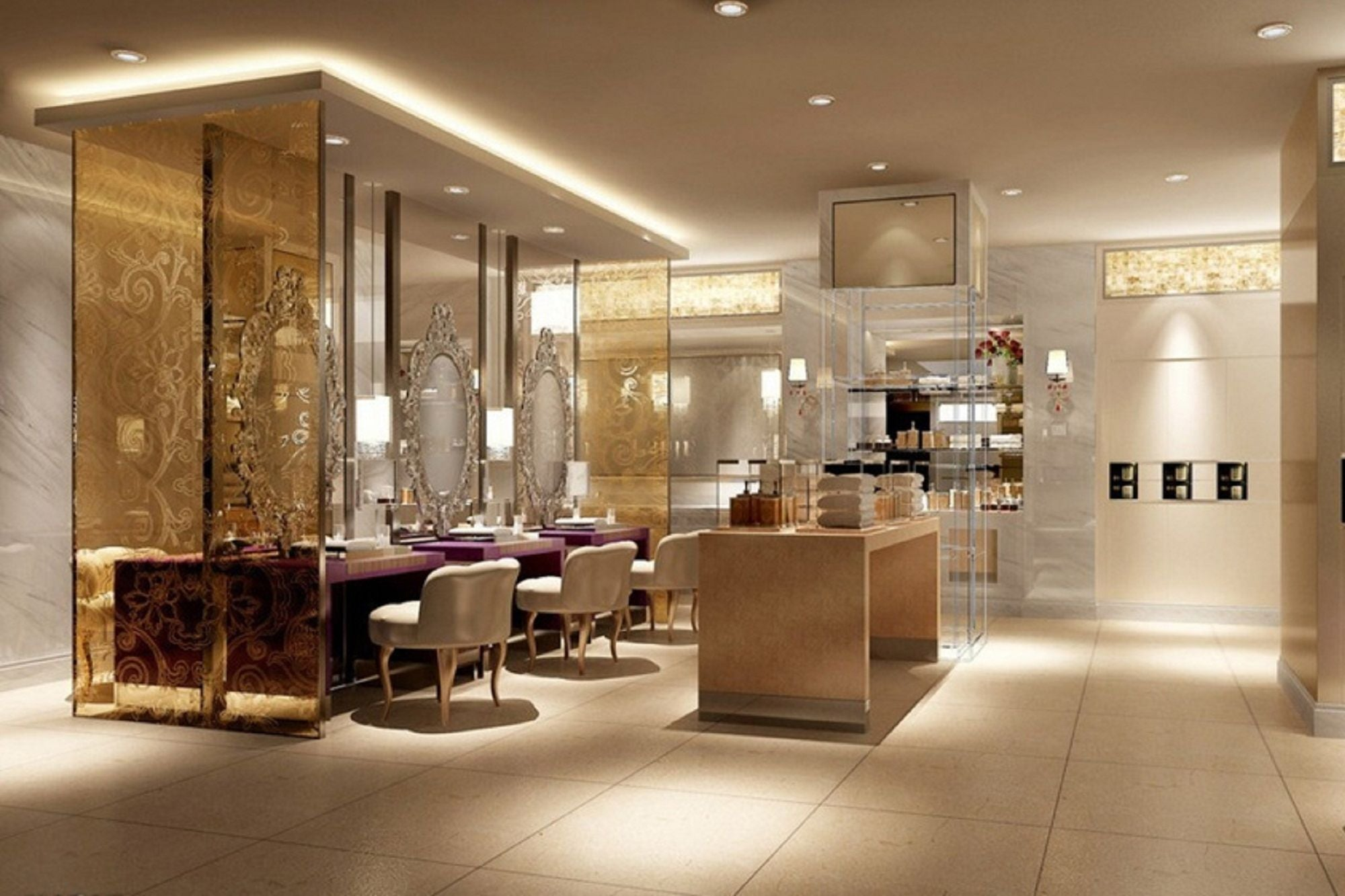 How Interior Decoration Can Help In Getting Traction For Your Salon Franchise Business