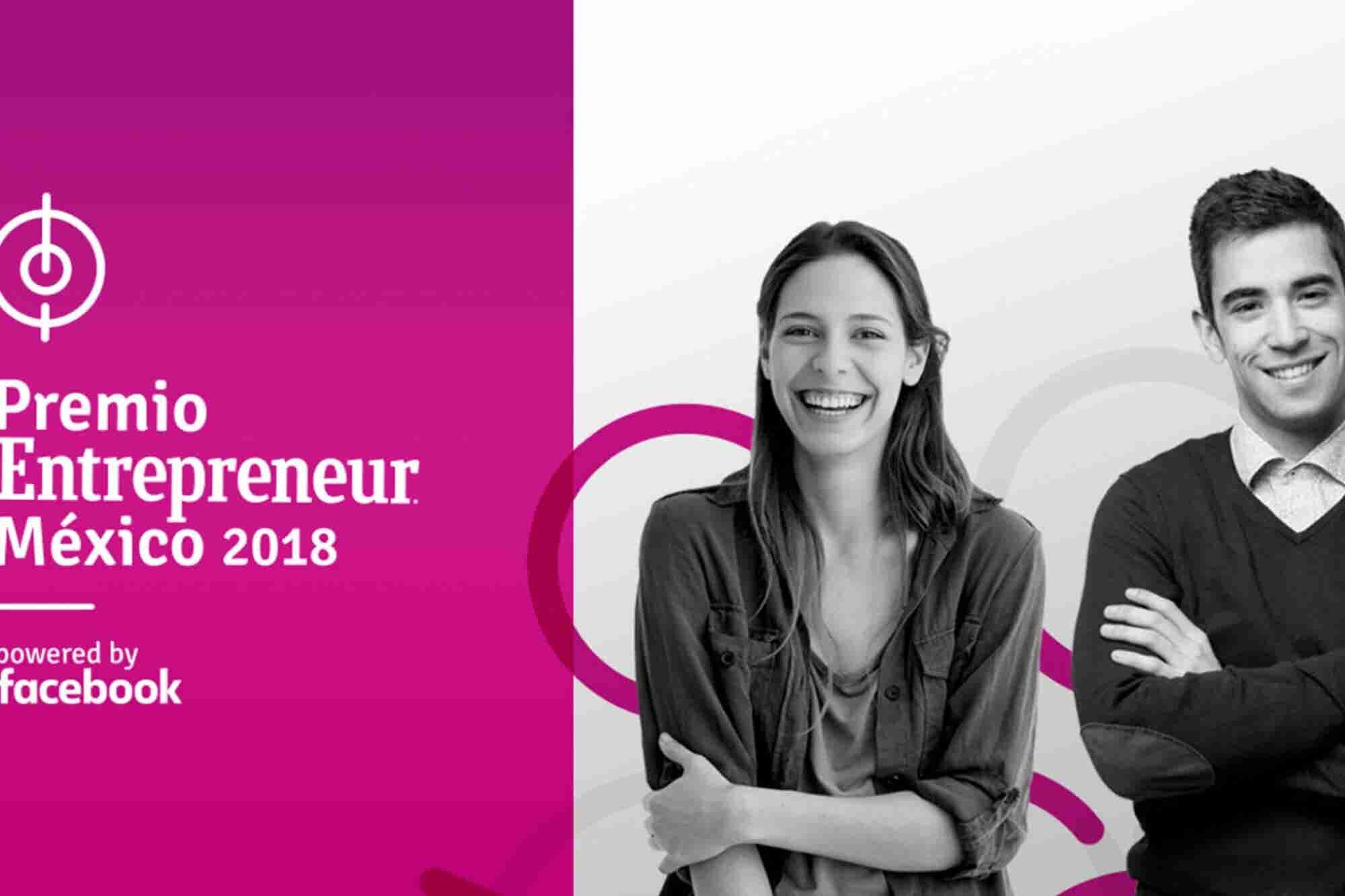 Estos son los semifinalistas del Premio Entrepreneur México 2018