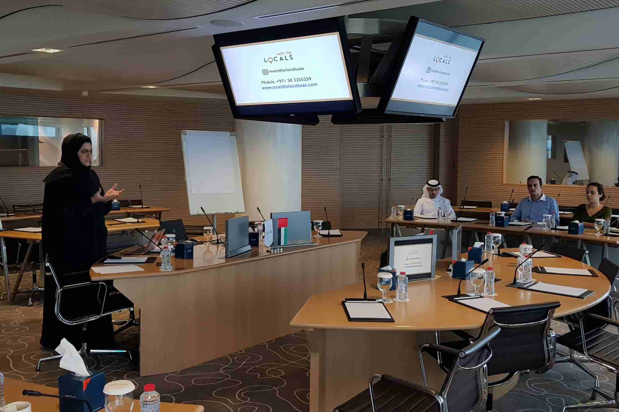 Pitch Perfect: Dubai Startup Hub Hosts Emirati Pitch Training Workshop