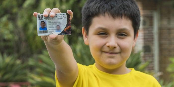 El niño de 12 años que será alumno de la Facultad de Ciencias de la UNAM