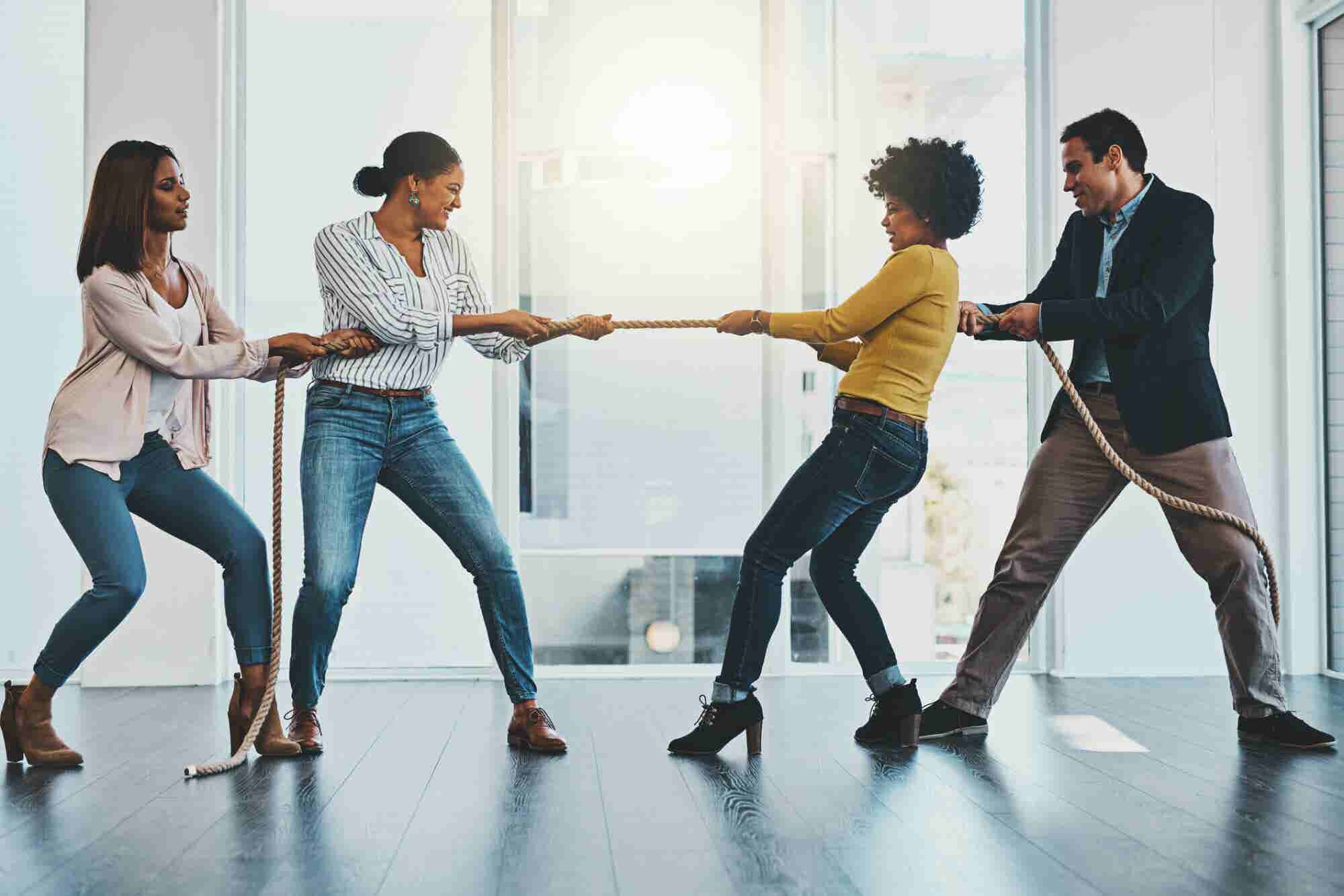 6 Ways Healthy Office Competition Builds Teams and Improves Productivity