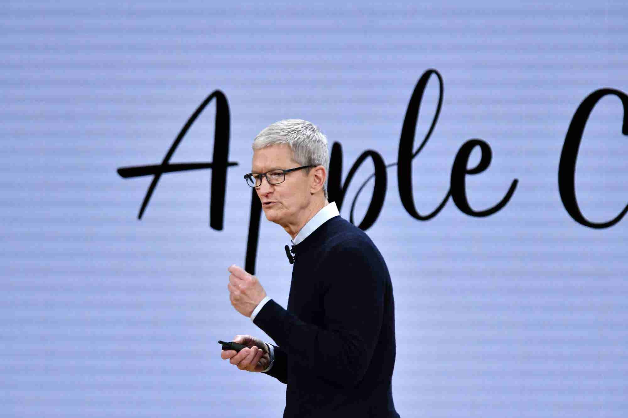 Apple CEO Tim Cook to Employees on $1 Trillion Milestone: 'It's Not th...