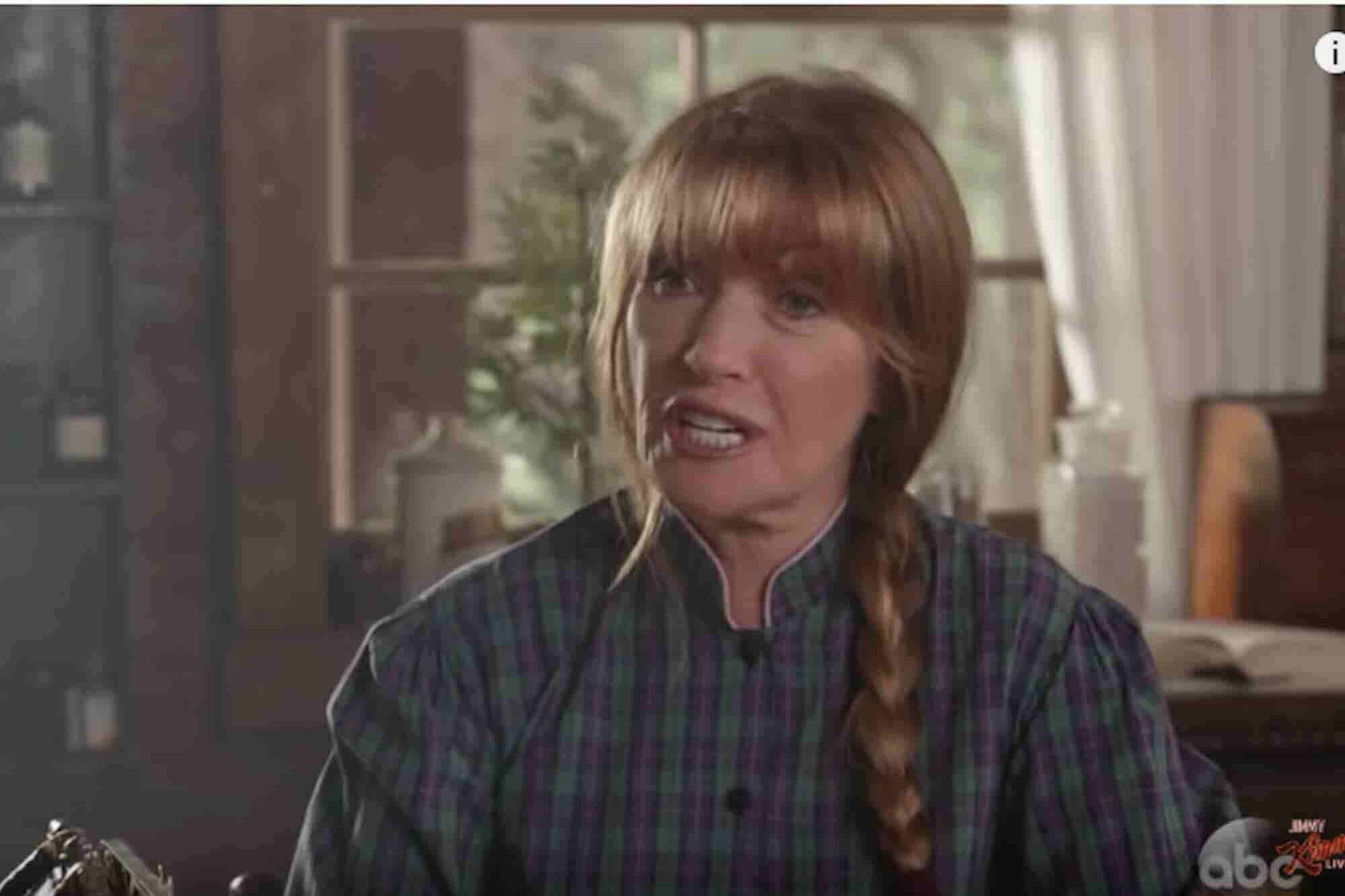 Jimmy Kimmel's 'Dr. Quinn Medicinal Marijuana Woman' Spoof Is Hilarious