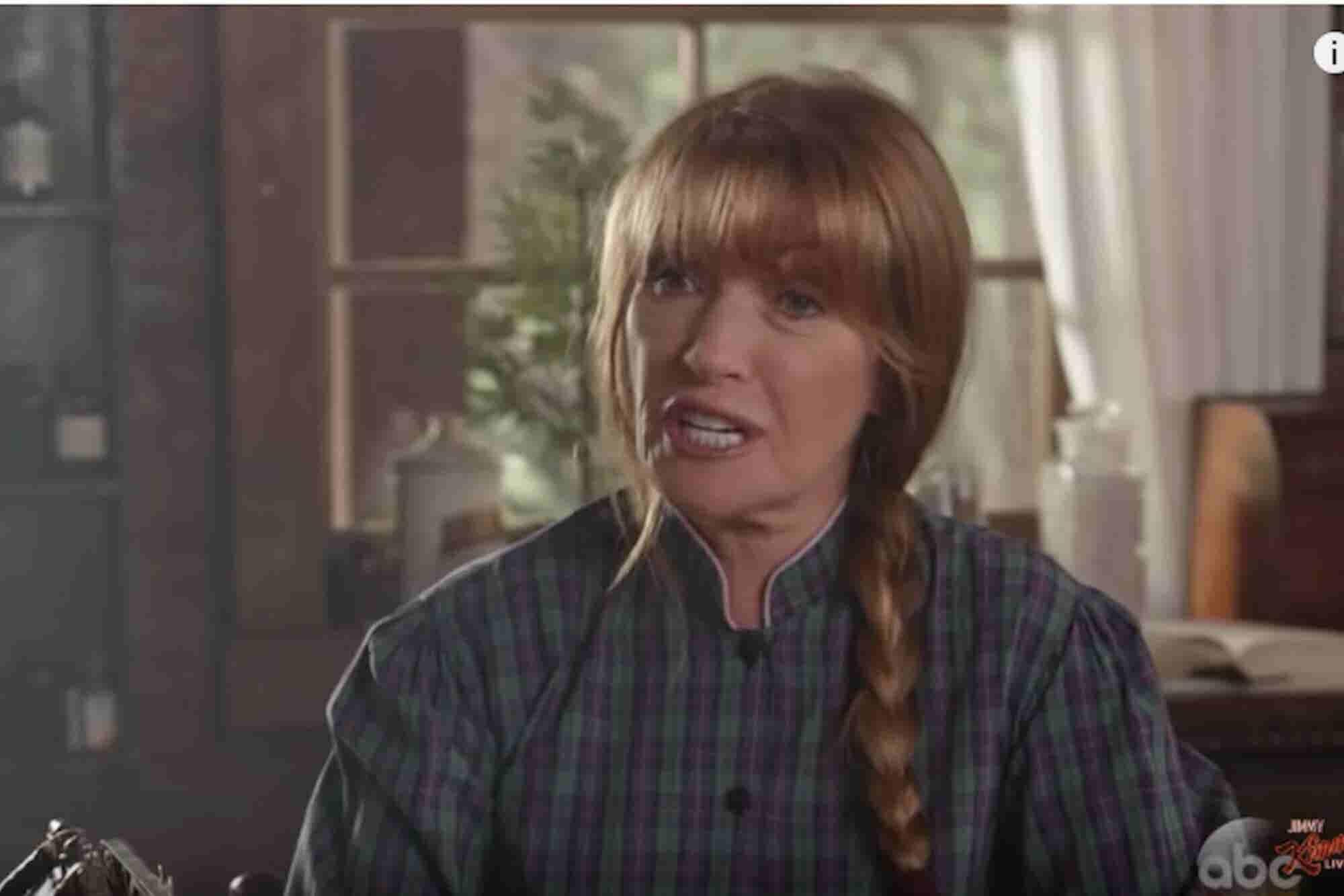 Jimmy Kimmel's 'Dr. Quinn Medicinal Marijuana Woman' Spoof Is Hilariou...
