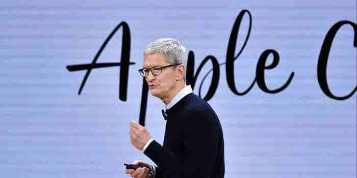 Qué les dijo el CEO de Apple a los empleados por alcanzar el valor de un billón
