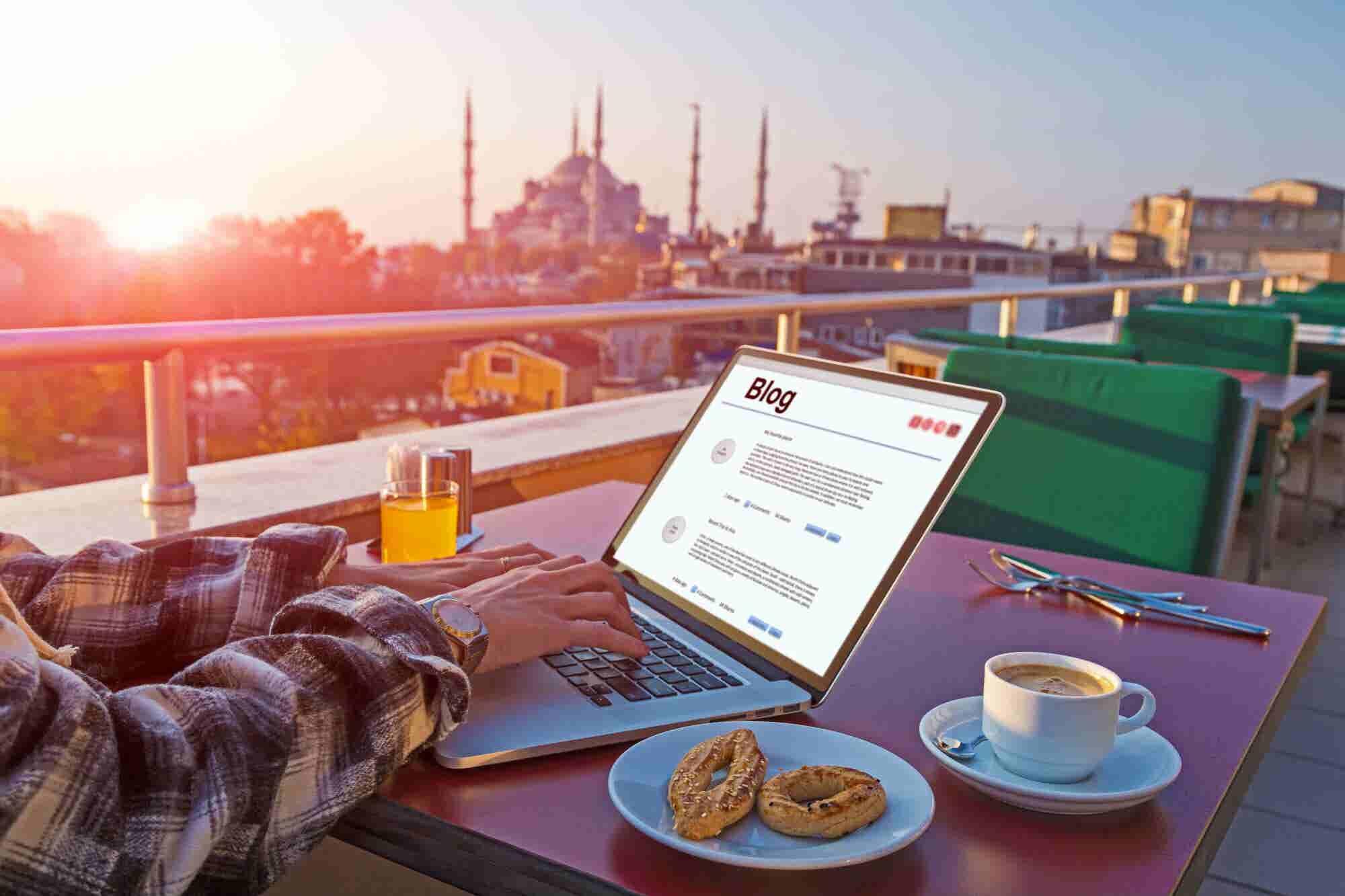 Cómo ganar dinero como blogger de viajes o marca de estilo de vida
