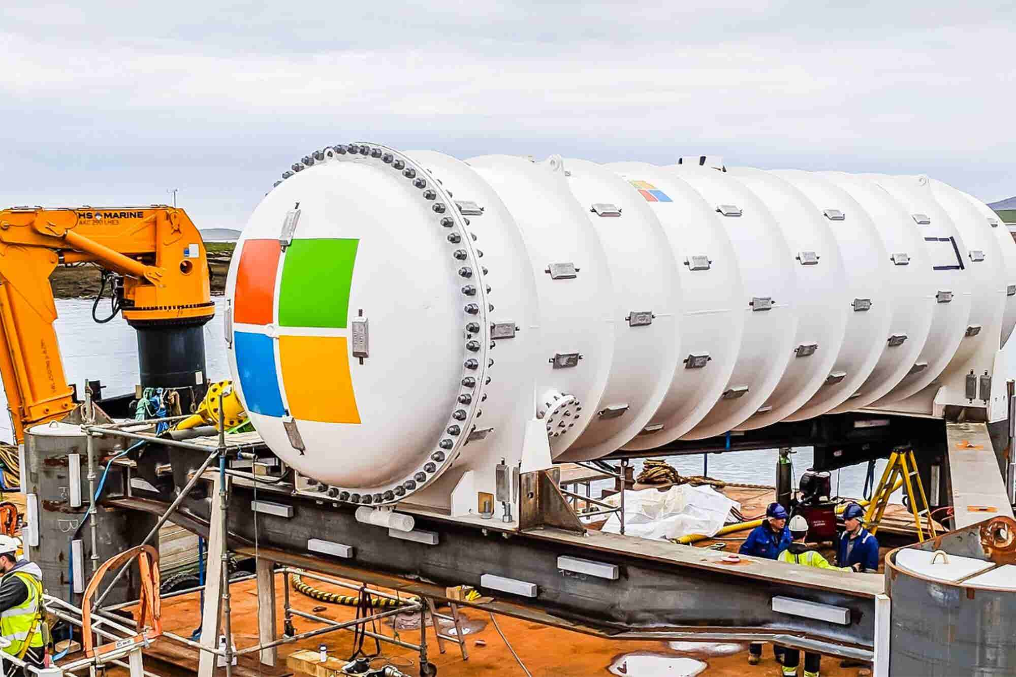 Watch Live as Fish Swim by Microsoft's Giant Undersea Data Center