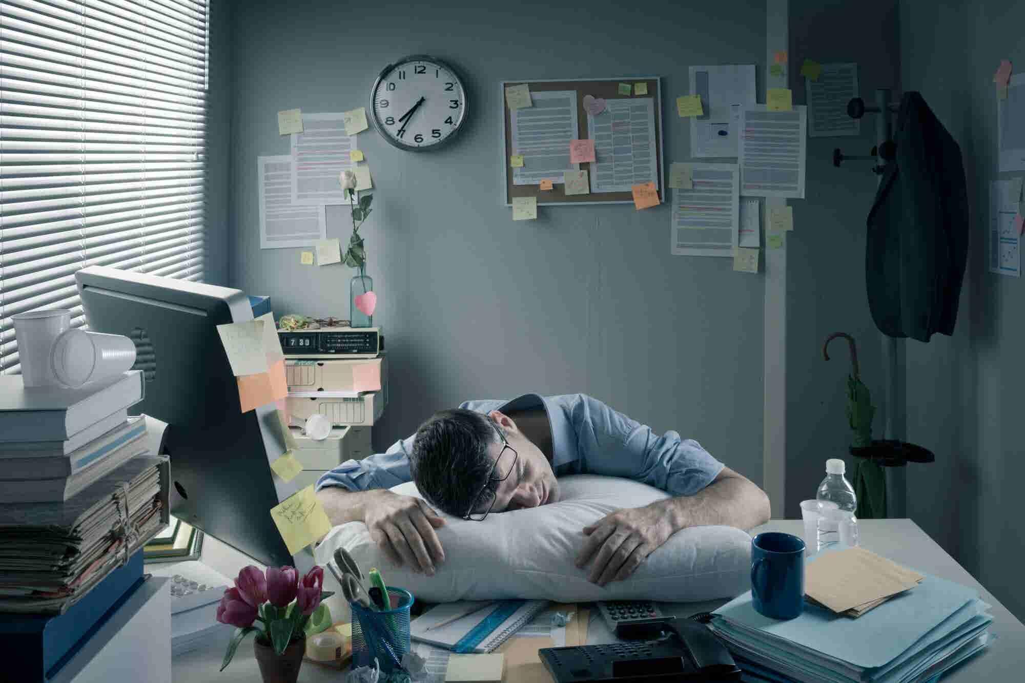 Test: ¿Eres adicto al trabajo?