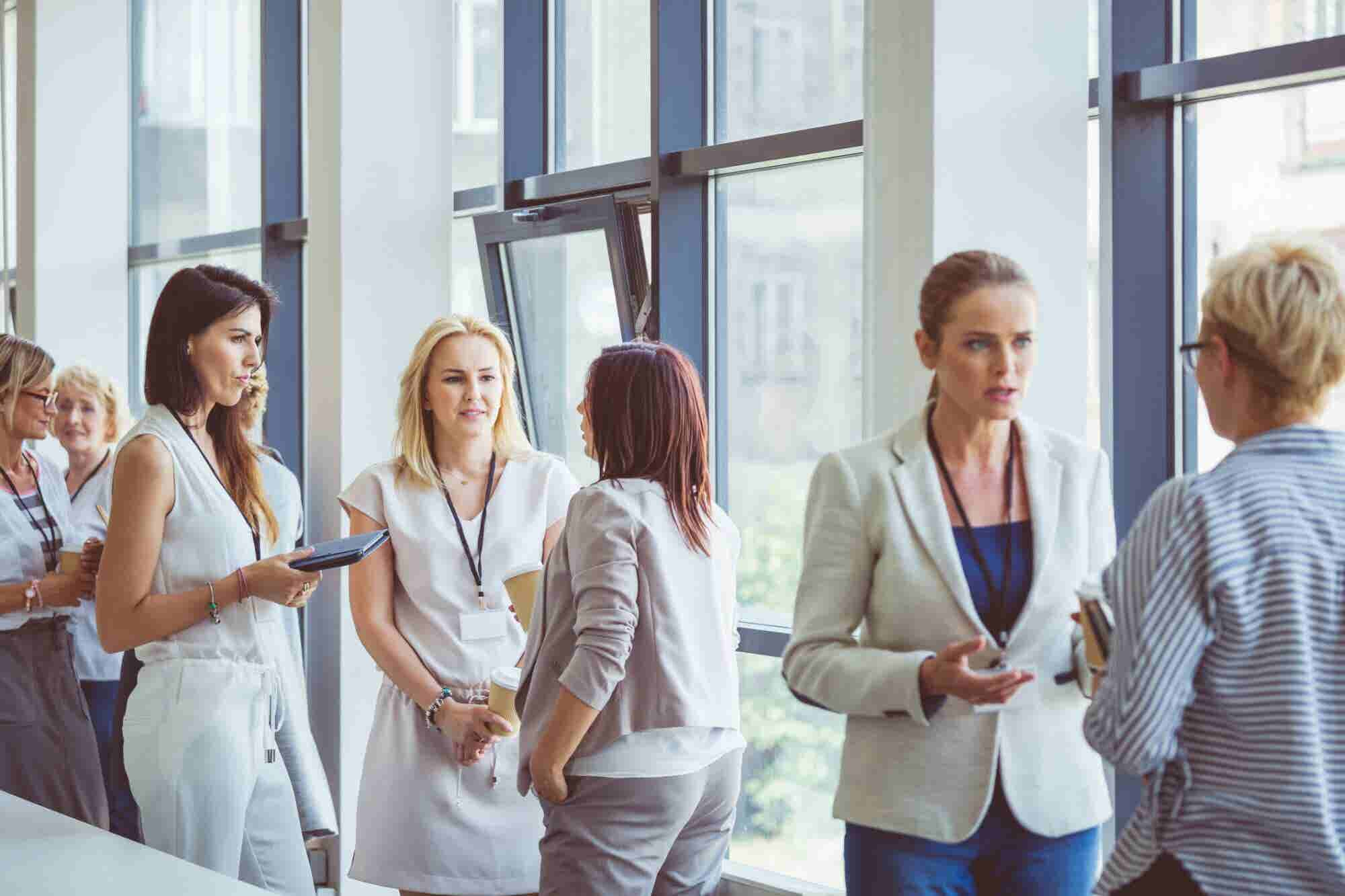 Isolation in Entrepreneurship Is Real. At Business Events, Women Need Empathetic Connections.