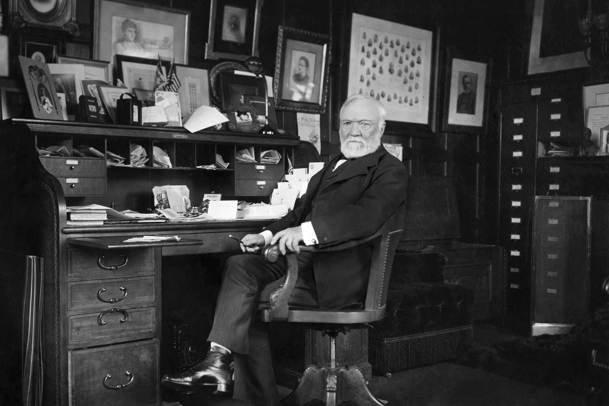 The Gospel of Wealth' by Andrew Carnegie