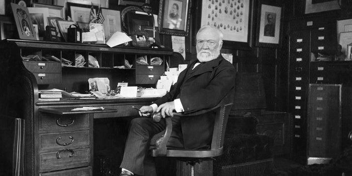 The Gospel of Wealth' by Andrew Carnegie
