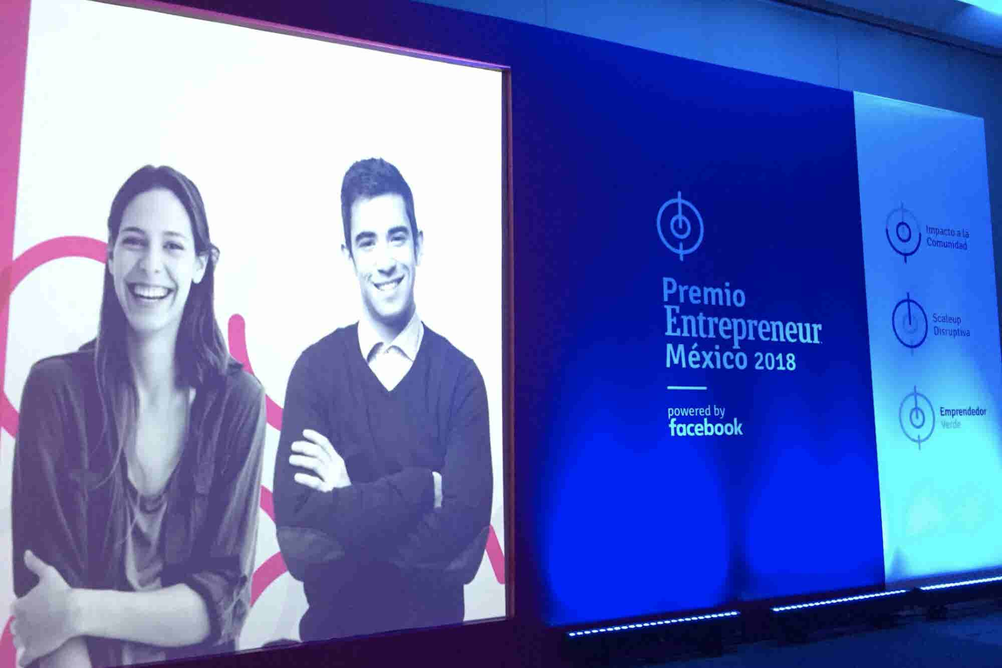 Ellos son los ganadores del Premio Entrepreneur México 2018