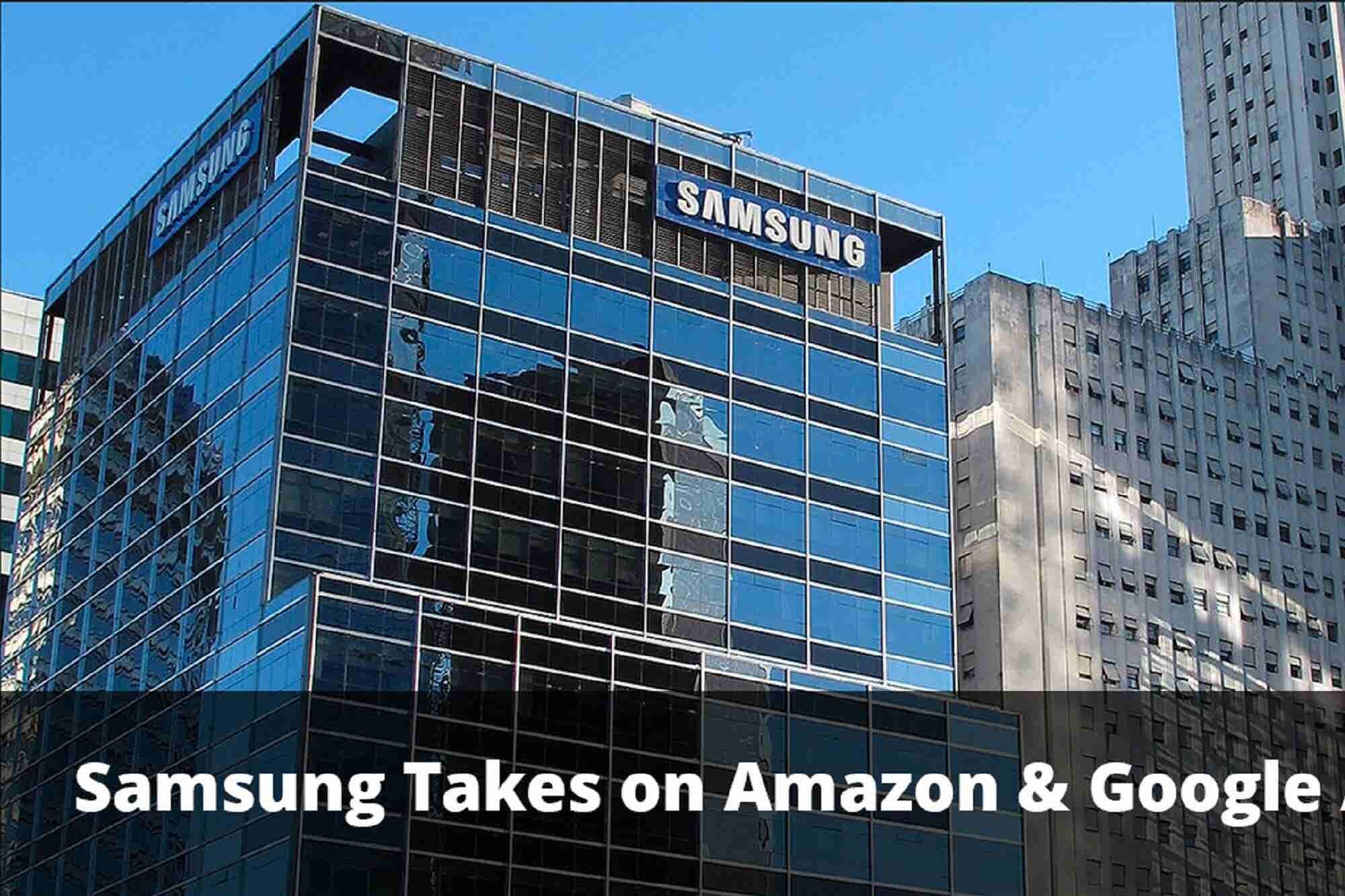 Samsung Echoes Into The Smart Speaker Market & Govt to Make $2 Billion...
