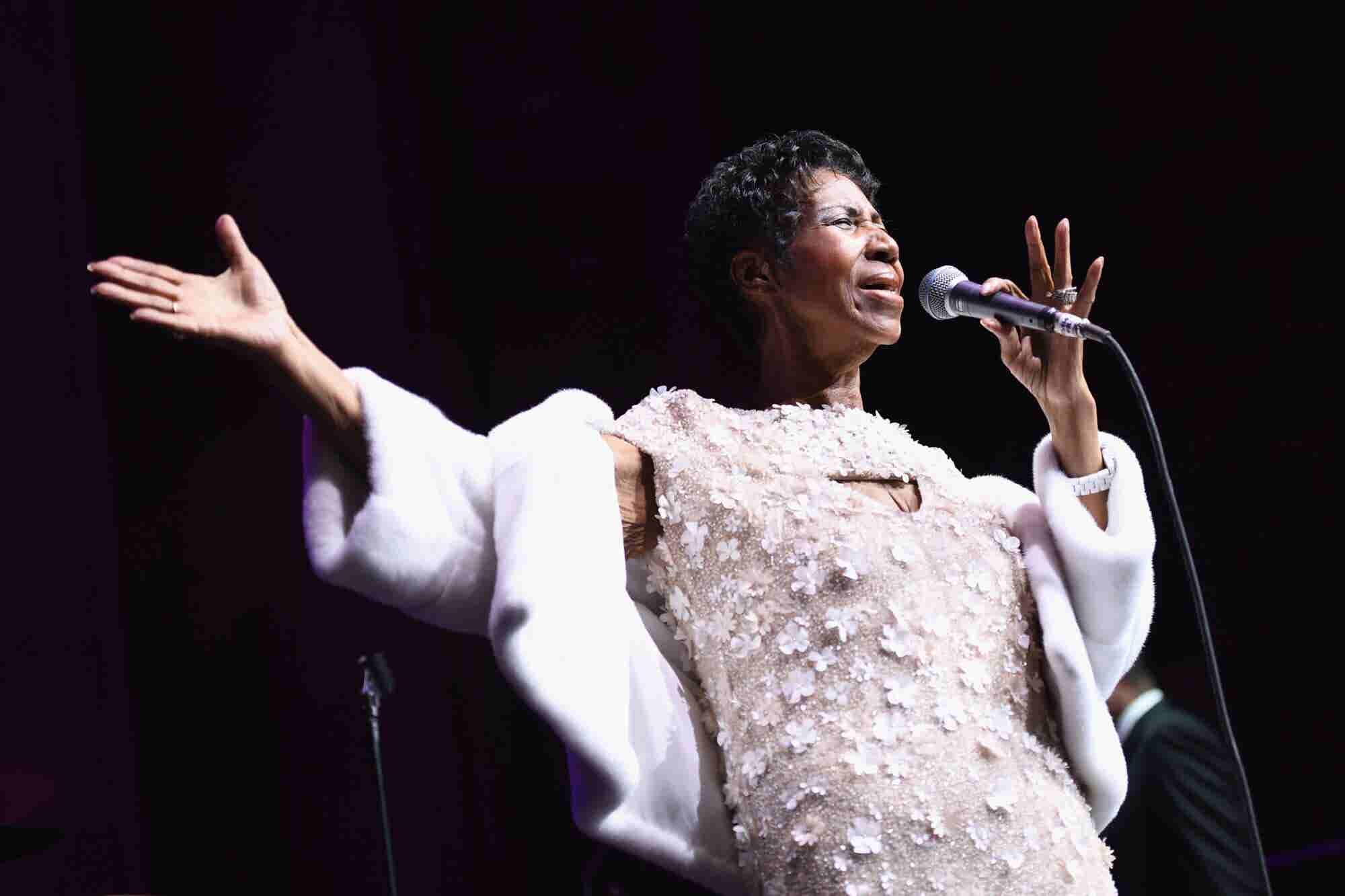 8 Inspiring Quotes From Legendary Singer Aretha Franklin