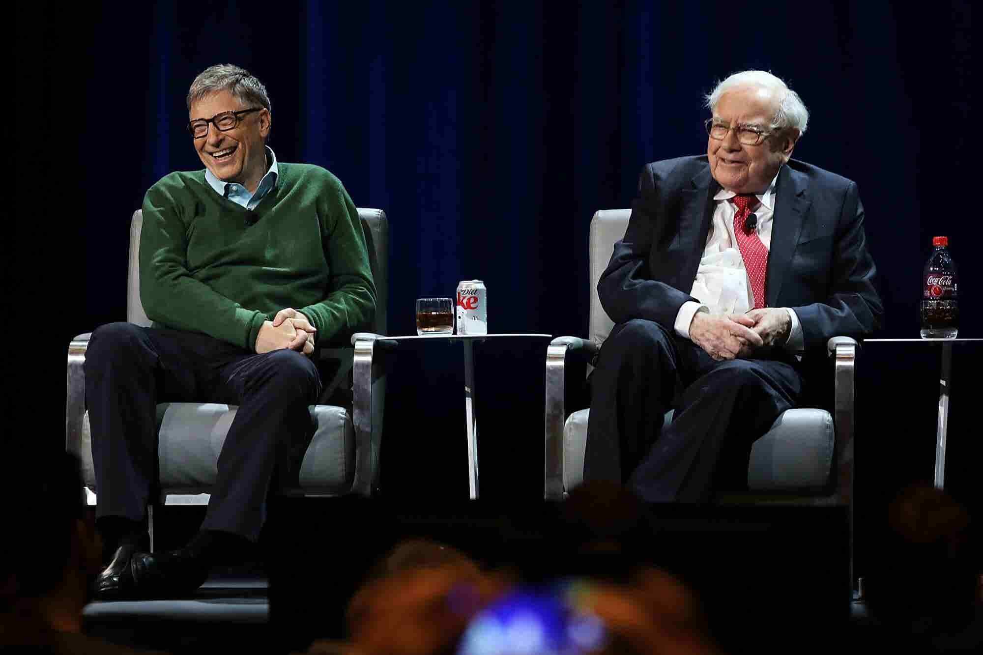 Bill Gates and Warren Buffett Have This Exclusive McDonald's Perk -- A...