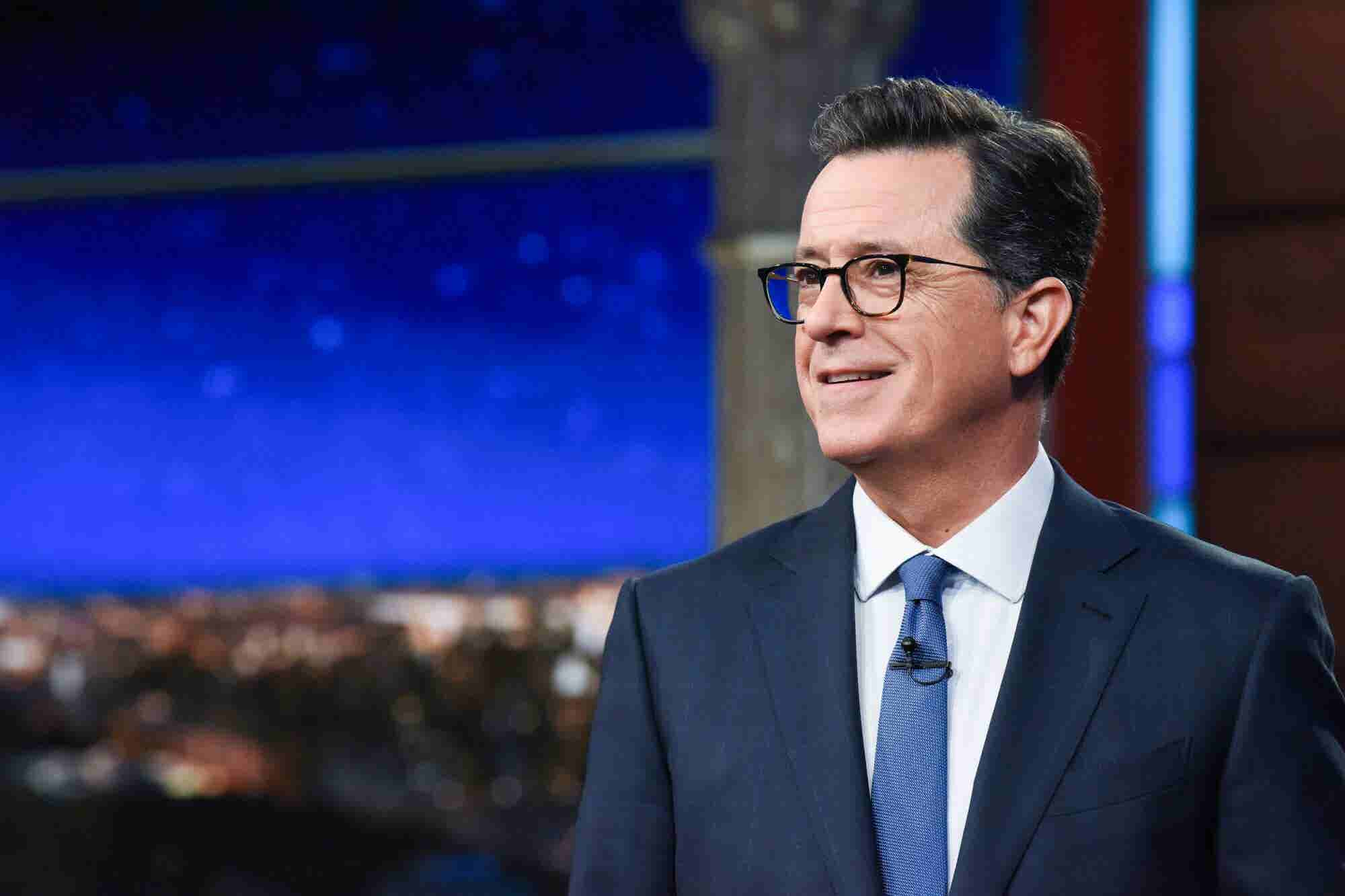 Stephen Colbert Shares the Simple Hiring Process That Led to an 'Extra...