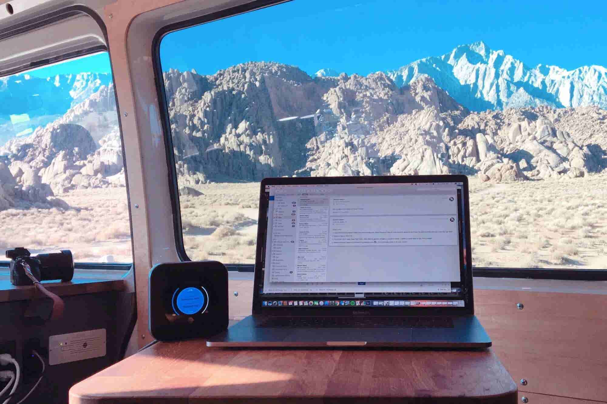 How to Run Your Business Like a Nomad -- While Living in a Van