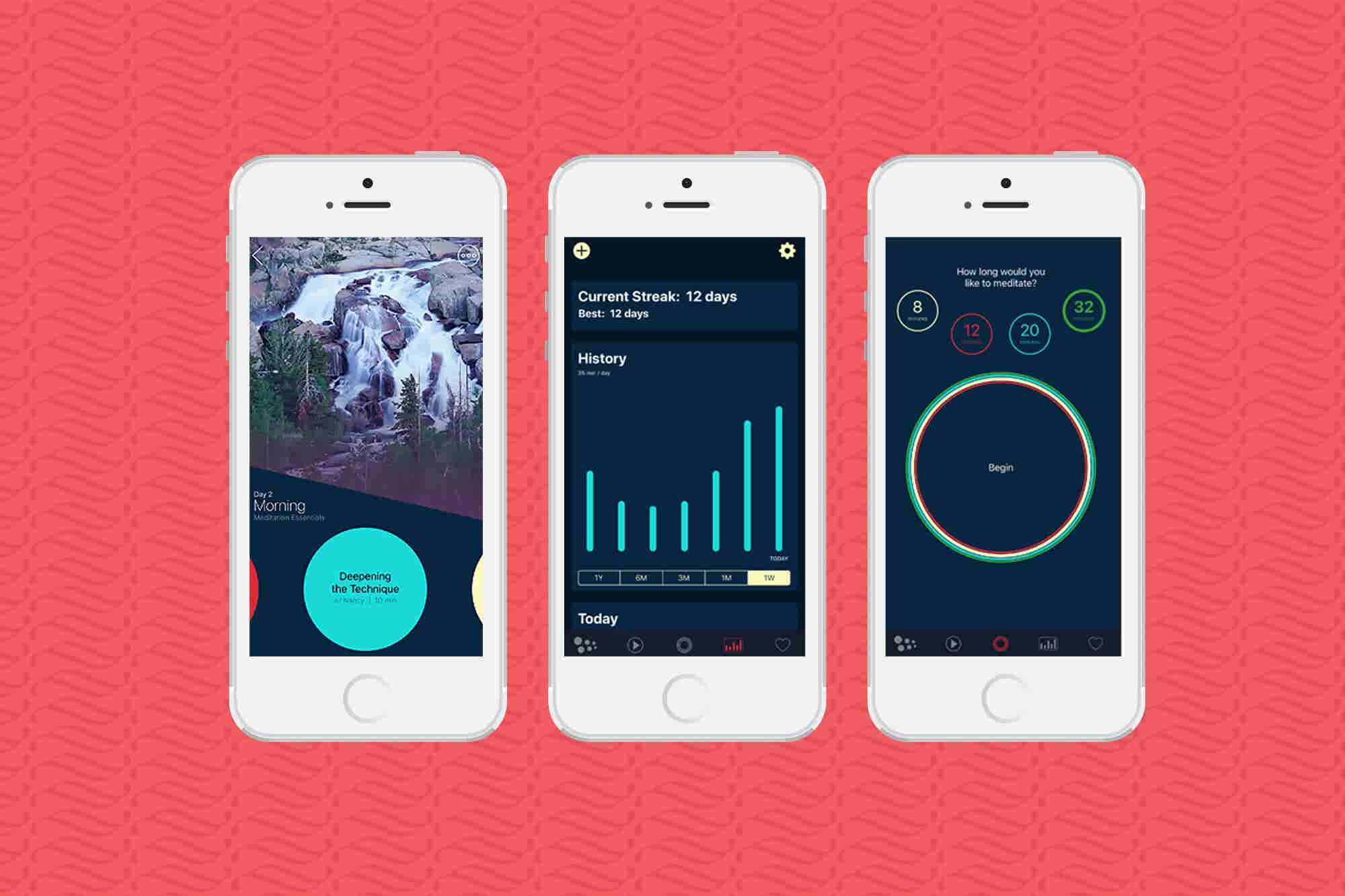 5 Meditation Apps to Help You Find Your Peace