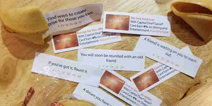 These Entrepreneurs Are Putting Ads Inside Your Fortune Cookie