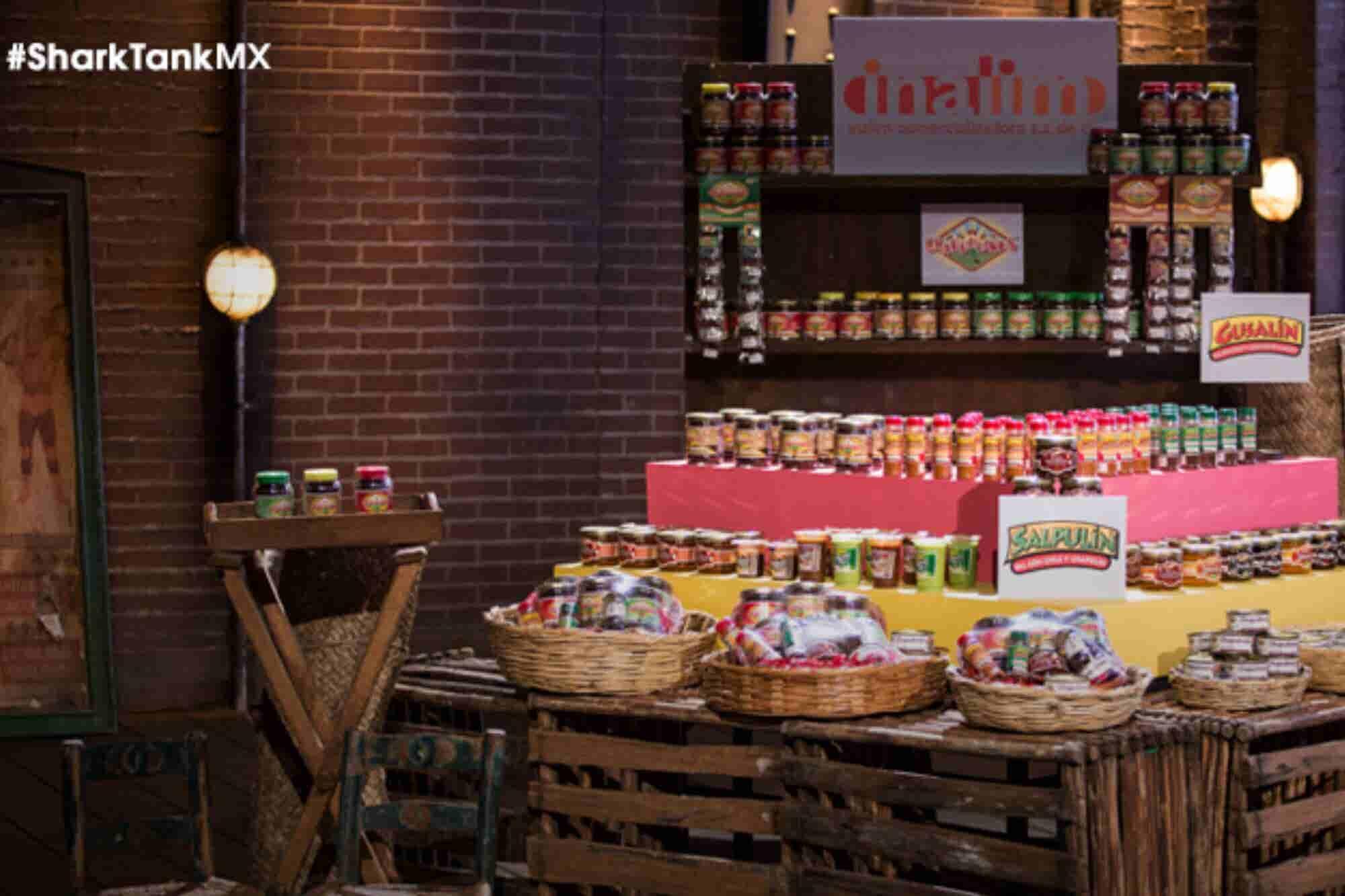 Las salsas de chapulín que consiguieron 10 millones en Shark Tank México