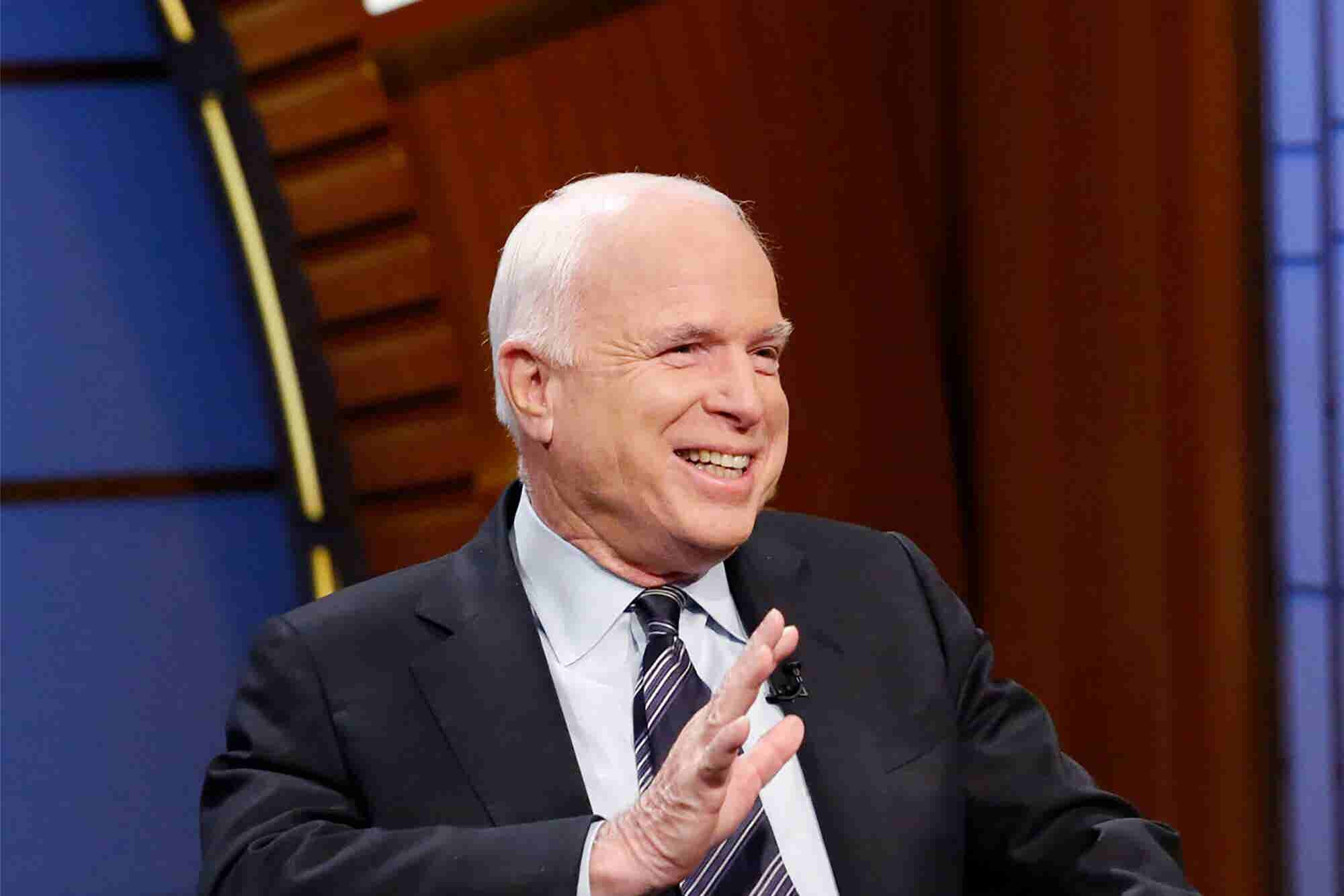 'What You Fight for Is the Real Test': 8 Quotes on Life and Leadership From Sen. John McCain