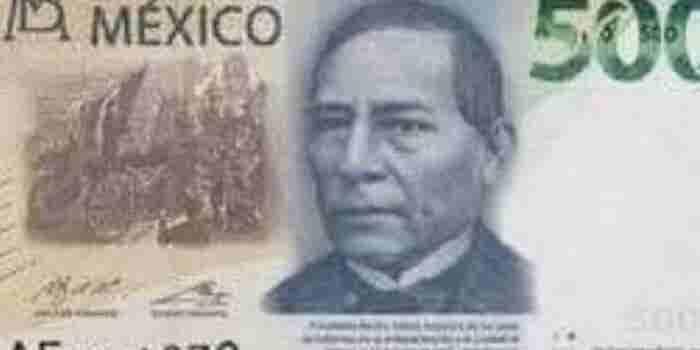 Este es el nuevo billete de 500 pesos
