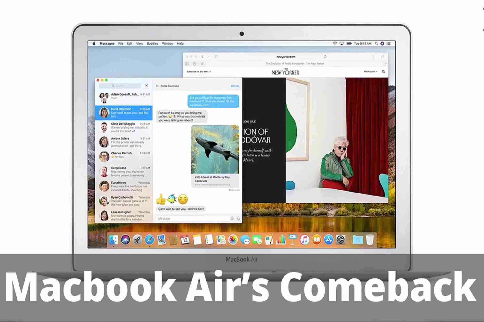 Welcome a New Low-Cost MacBook Air & Google Faces Lawsuit: 4 Things to Know Today
