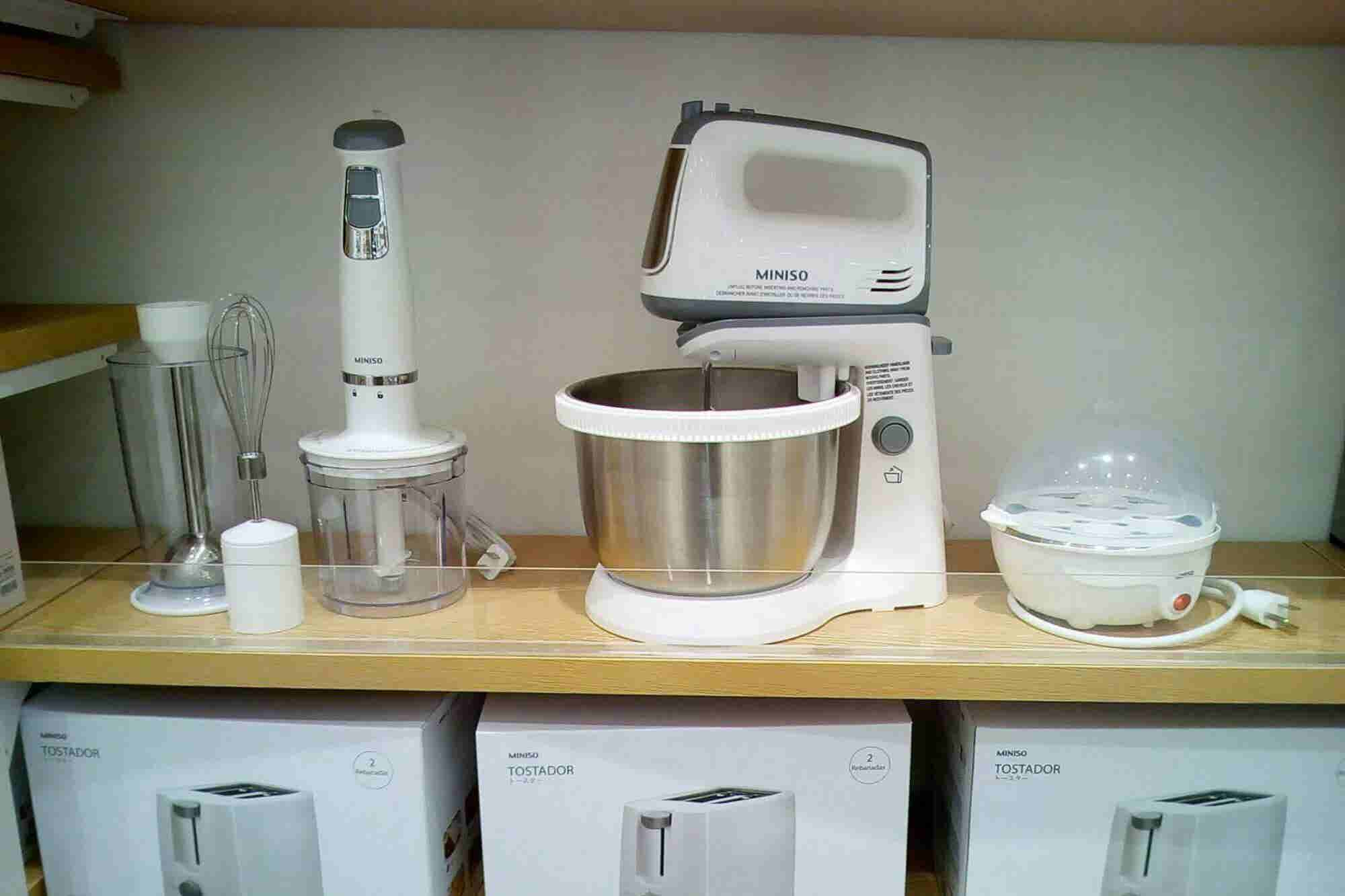 Miniso da la bienvenida a los electrodomésticos