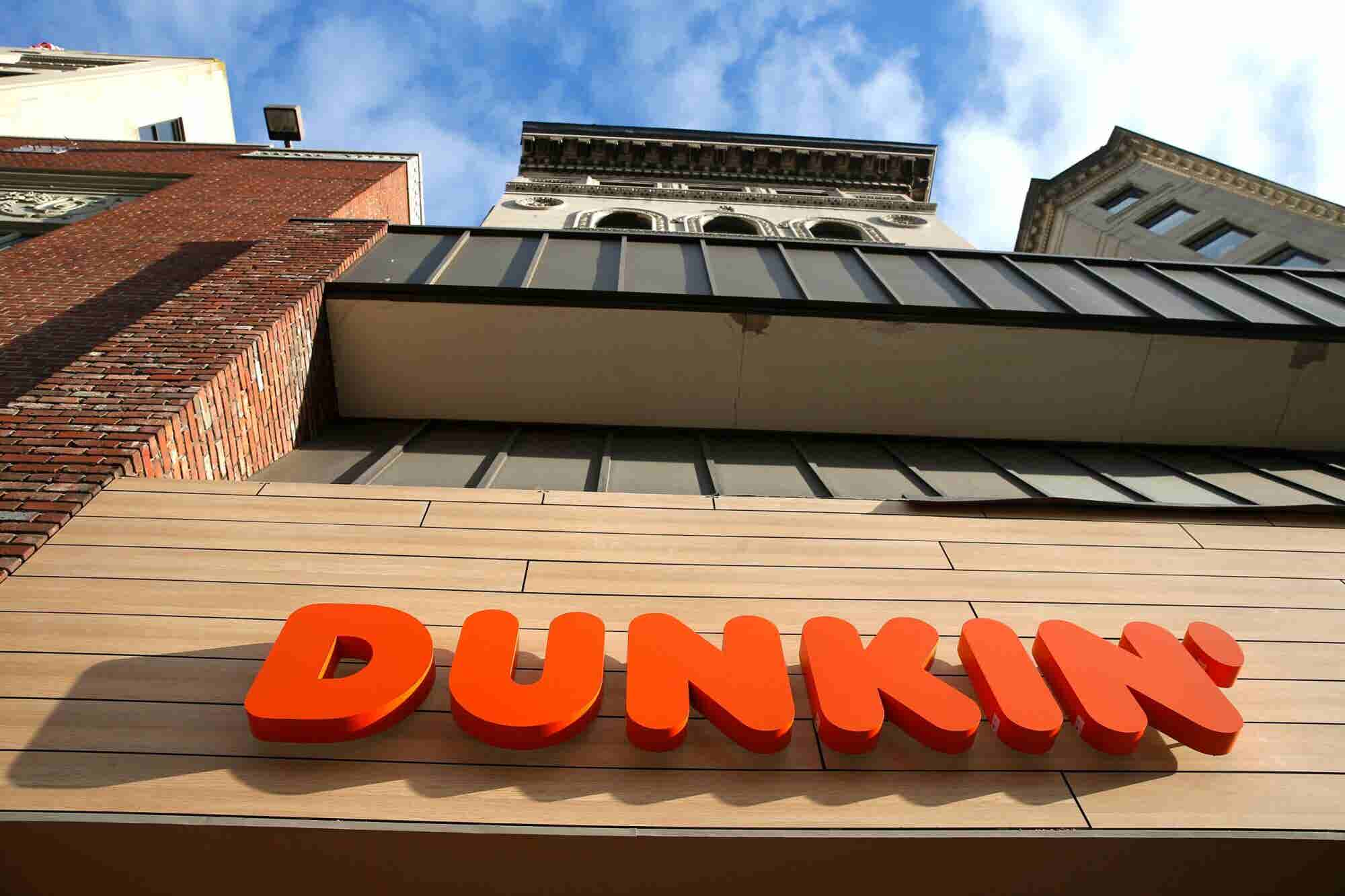 Here's Why Dunkin' Donuts Is Removing 'Donuts' From Its Name (at Least at Some Stores)