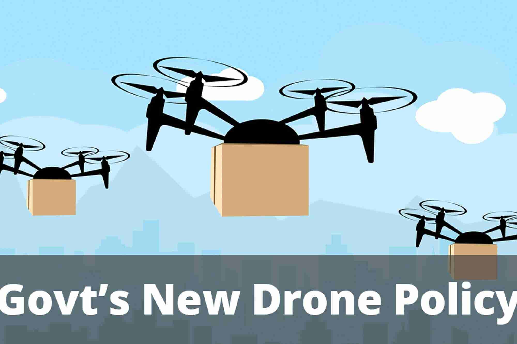 Indian Govt. Unveils New Drone Policy & Air Pollution Can Make You Les...