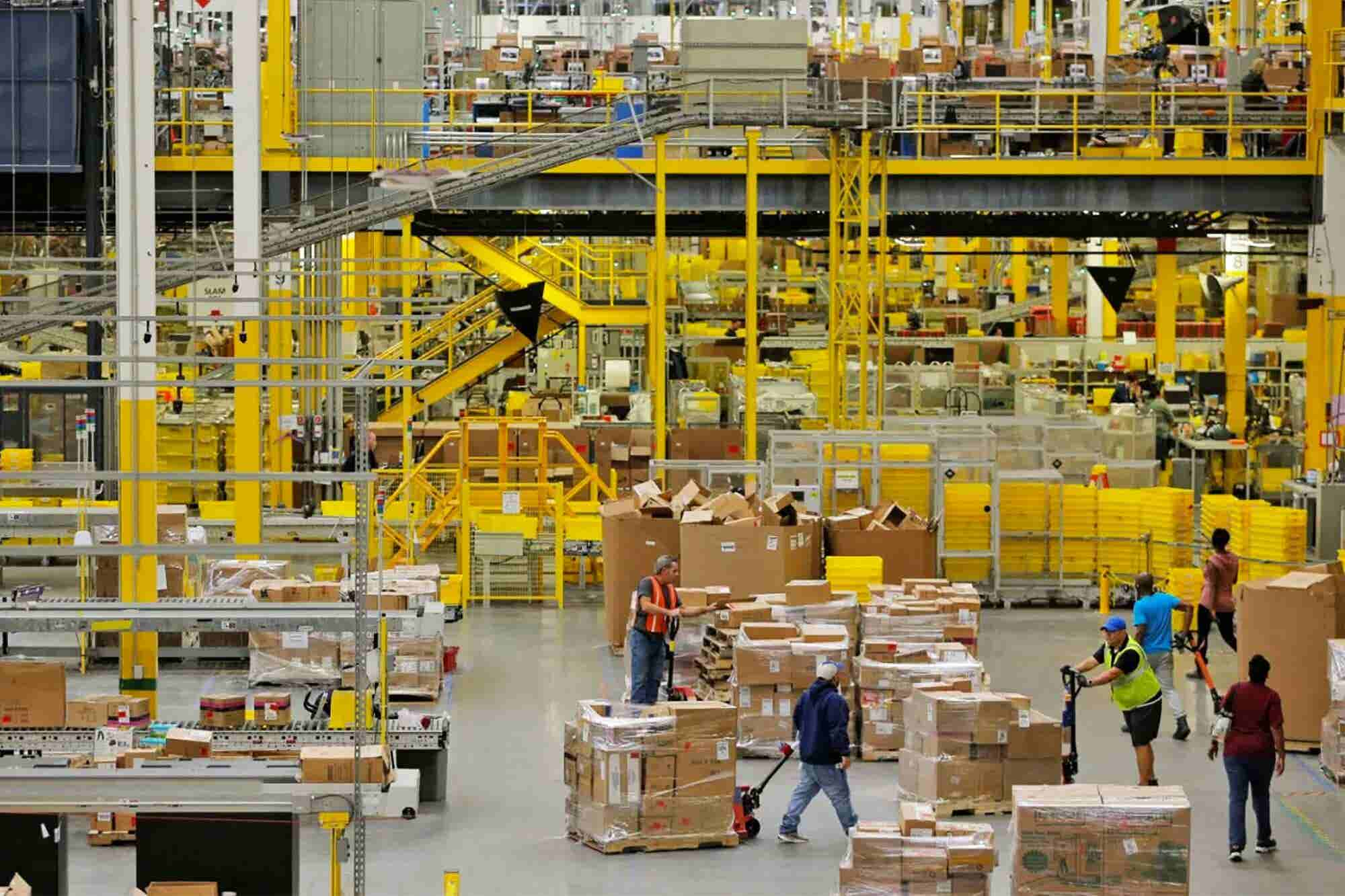 Amazon Calls Bernie Sanders's Working Conditions Claims 'Misleading'