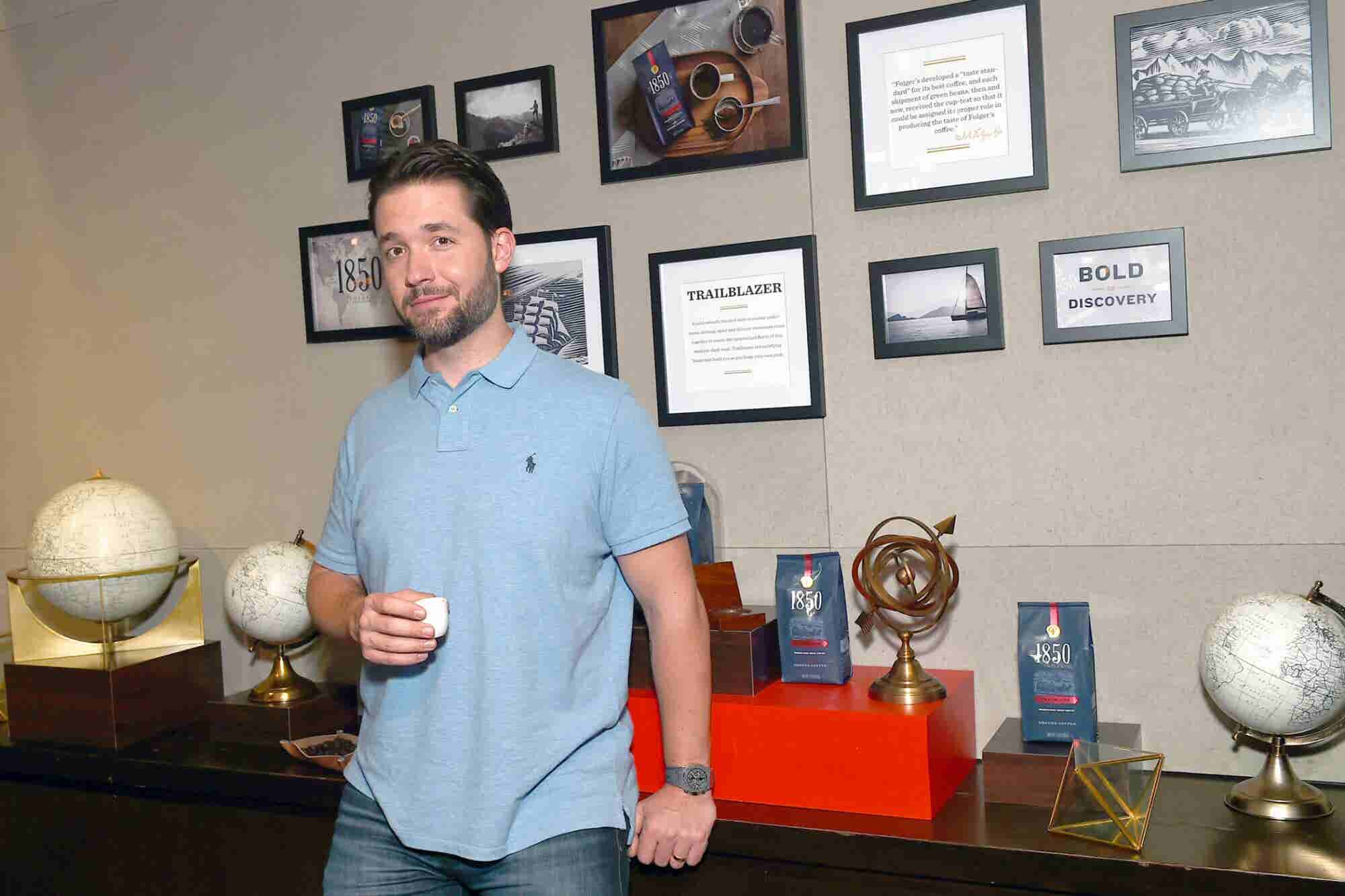 Reddit Co-Founder Alexis Ohanian Reveals Why You Should Rethink What It Means to Be a Great Mentor