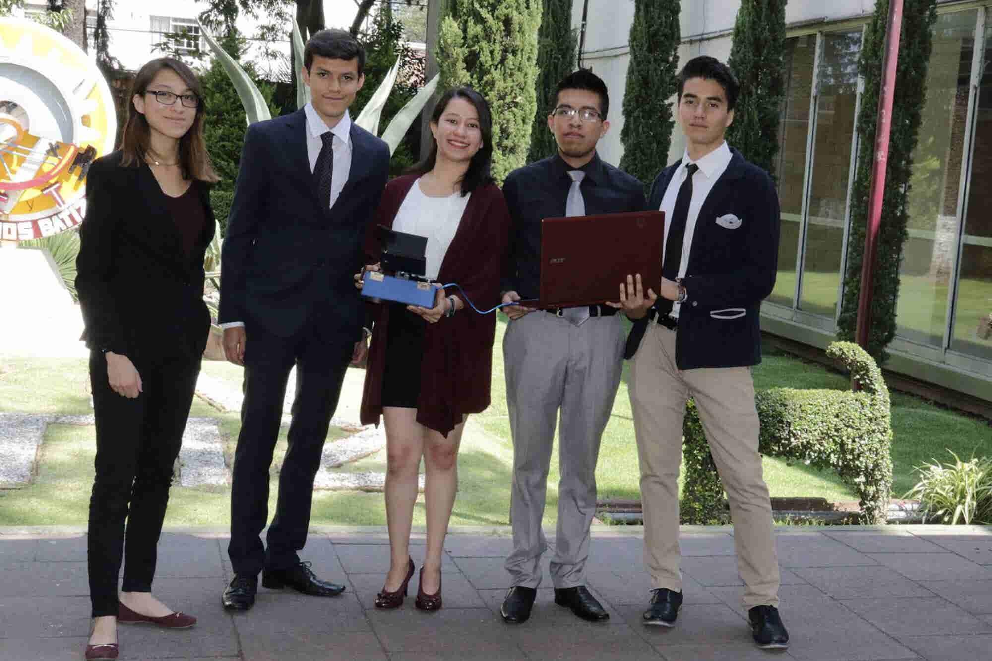 Estudiantes del IPN crean robot explorador y rescatista