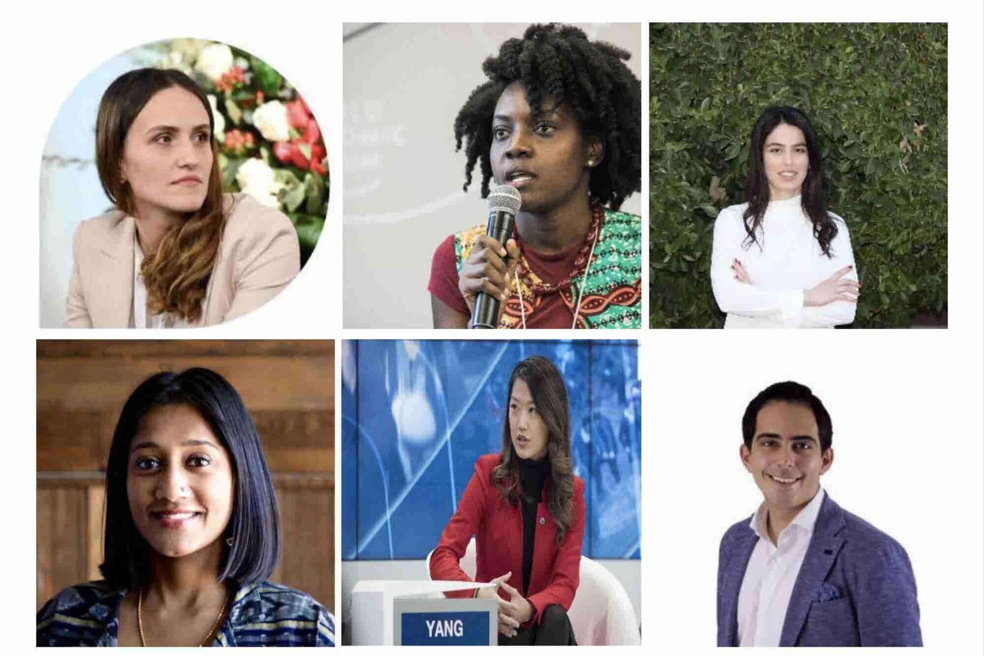 Estos 6 jóvenes menores de 35 años están cambiando al mundo