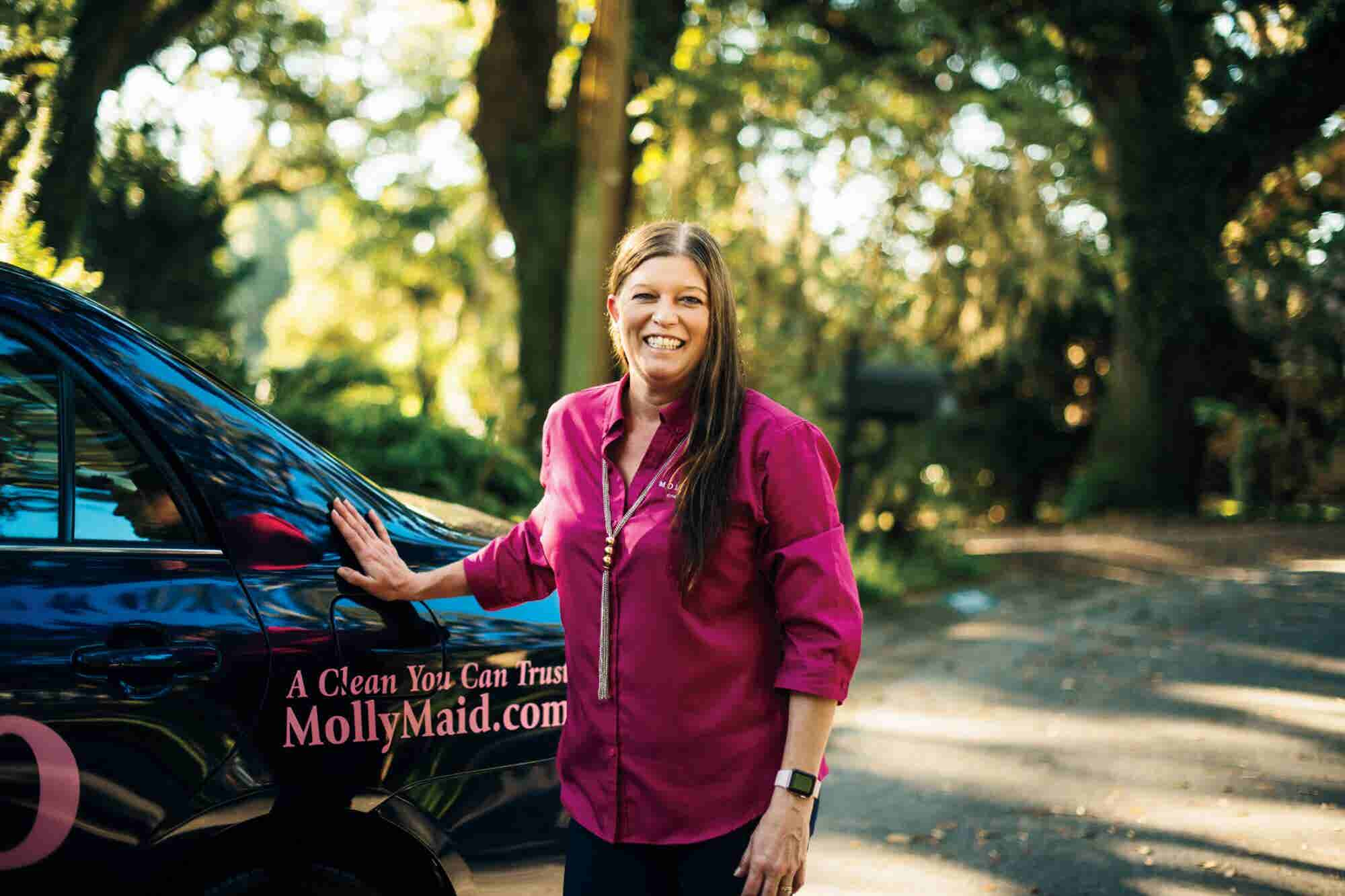 How This Molly Maid Franchisee Built a Million-Dollar Business