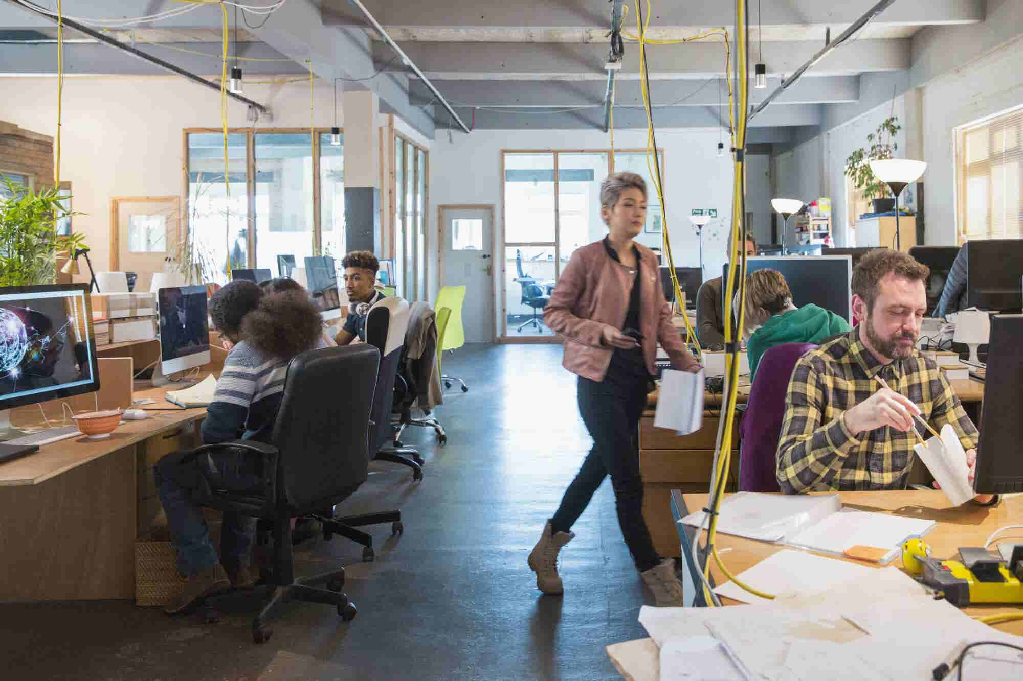 4 Benefits That Explain Why Large Companies Are Increasingly Turning to Coworking