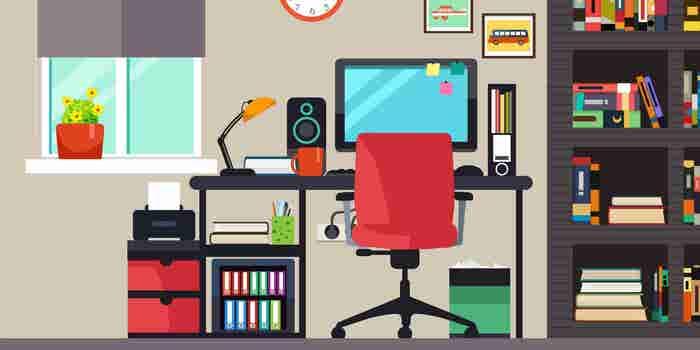 Infografía: 8 tips para ser productivo desde tu hogar