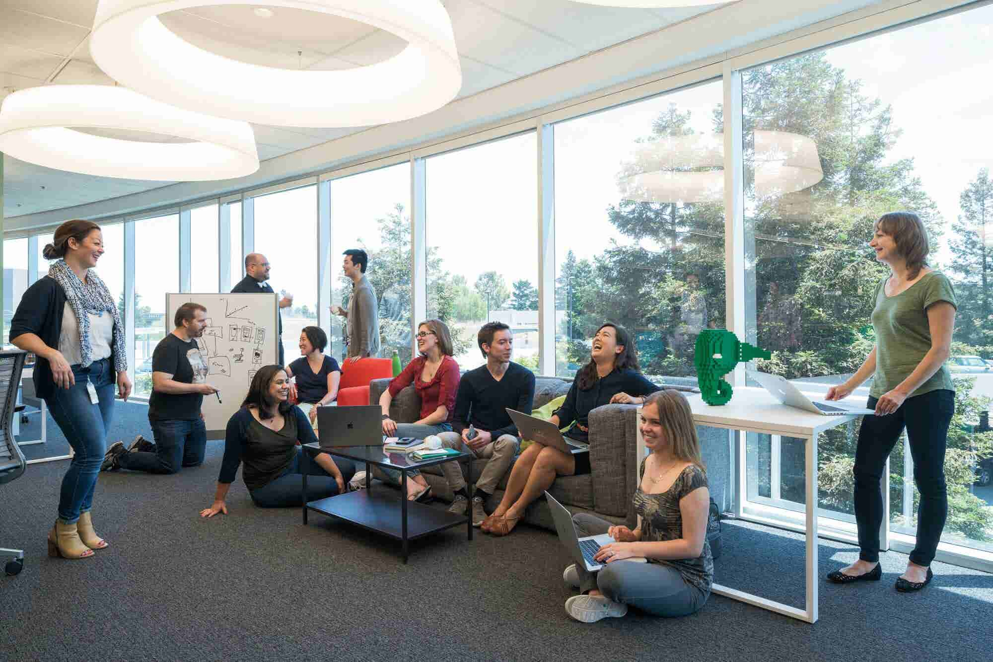 Evernote's Silicon Valley Headquarters Offer Company-Wide Collaboration (and Lego-Building Classes)