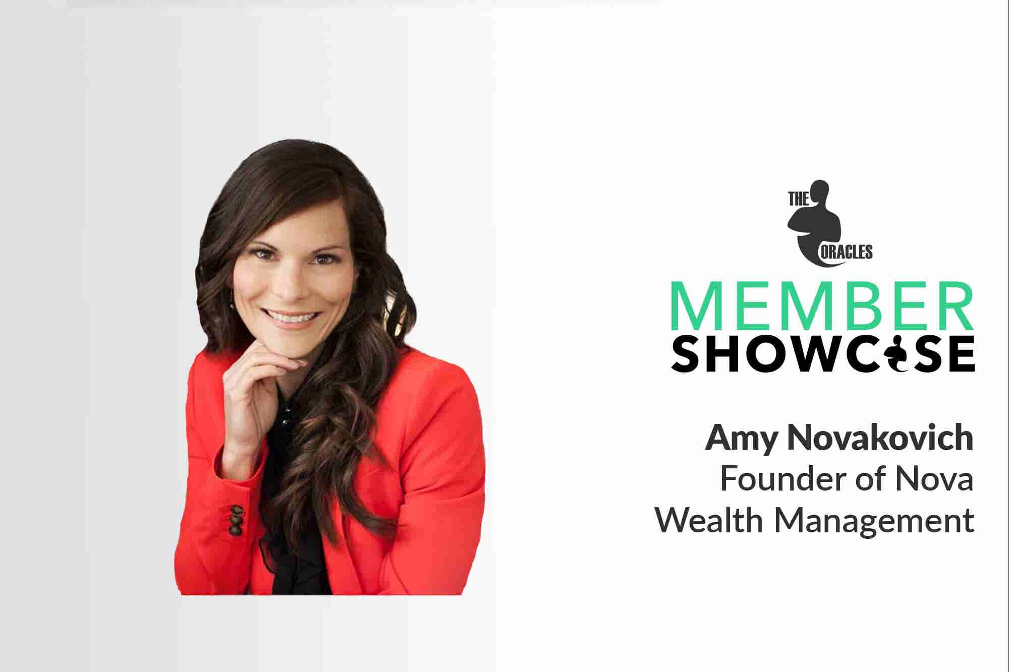 How Amy Novakovich Is Making the Financial Industry More Transparent